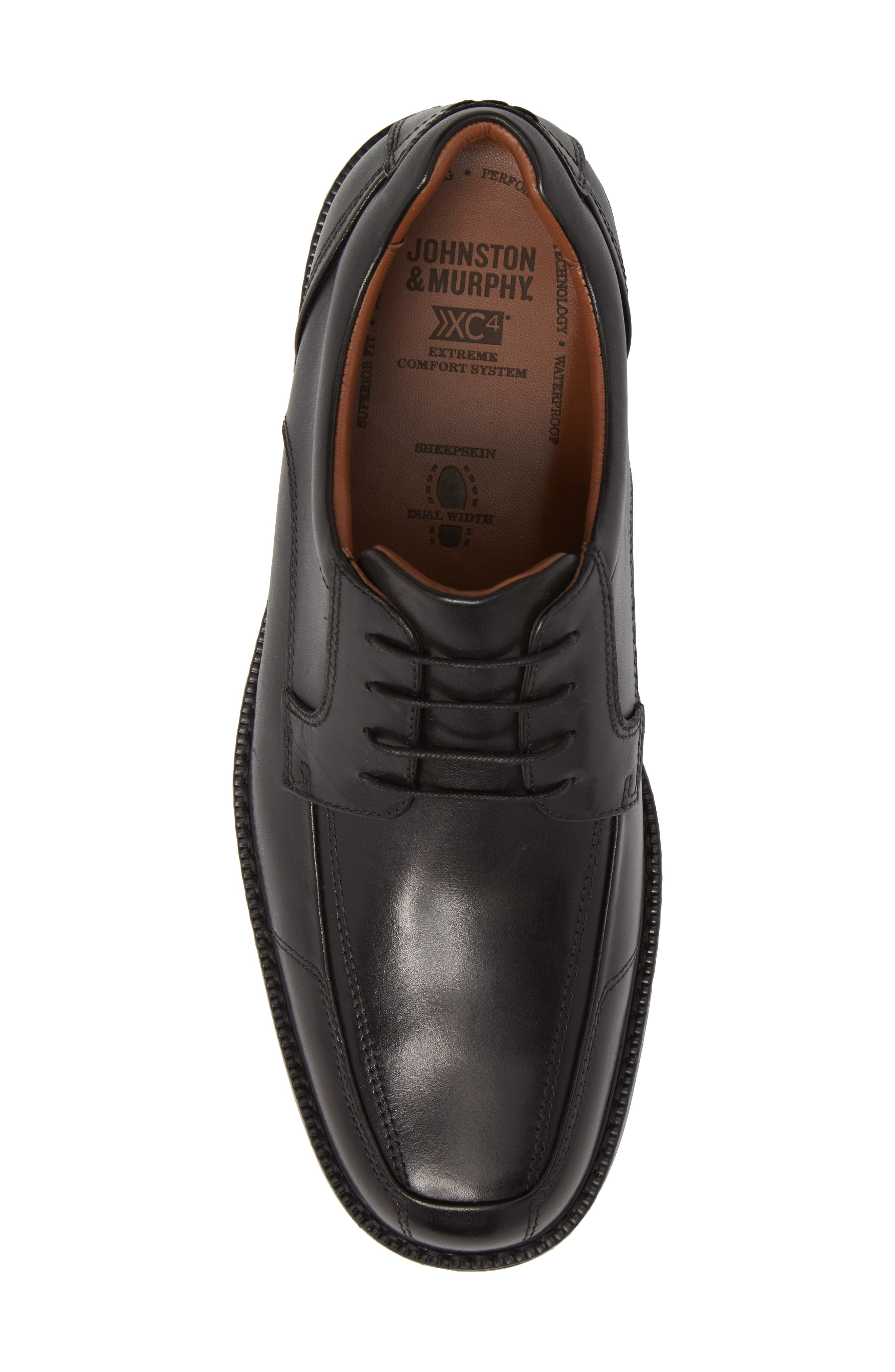 Stanton XC4<sup>®</sup> Waterproof Derby,                             Alternate thumbnail 5, color,                             BLACK LEATHER
