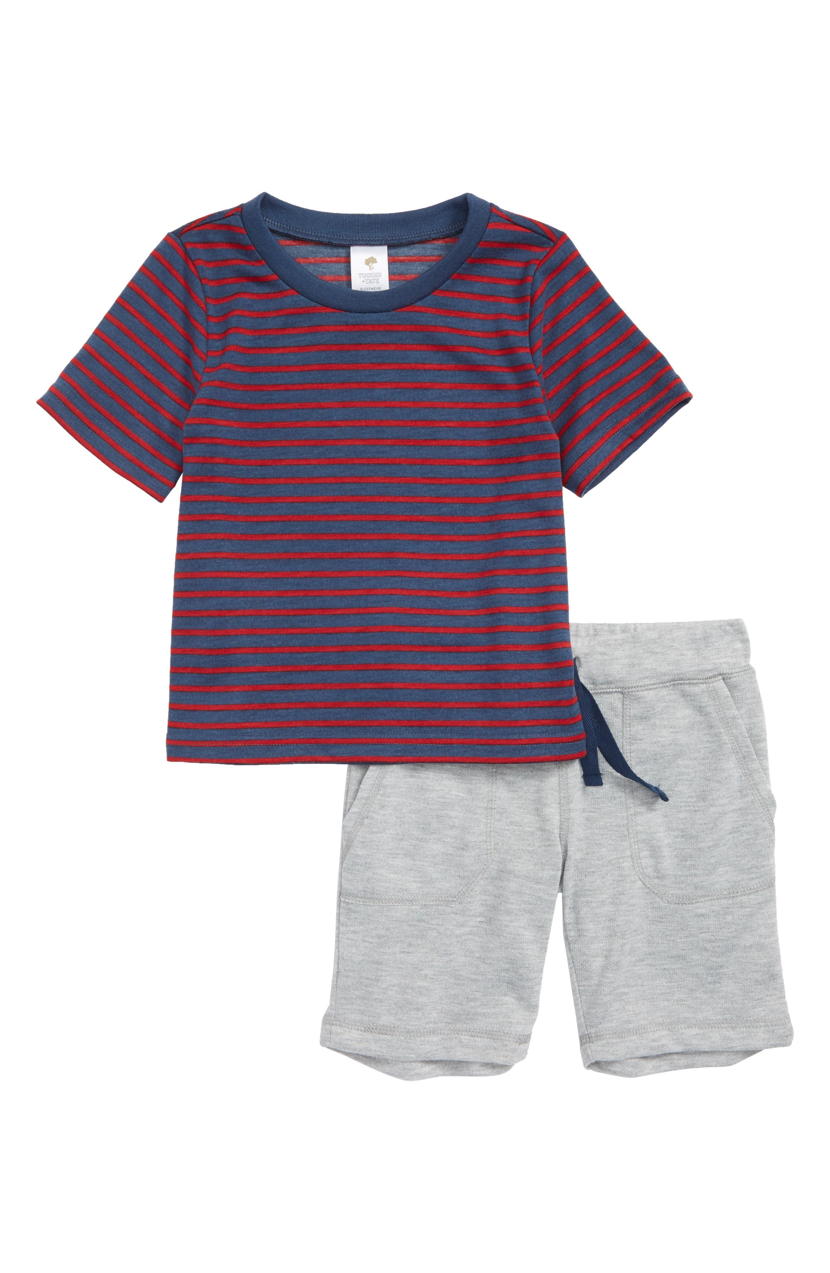 Toddler Boys Tucker  Tate TwoPiece Pajamas Size 3T  Red