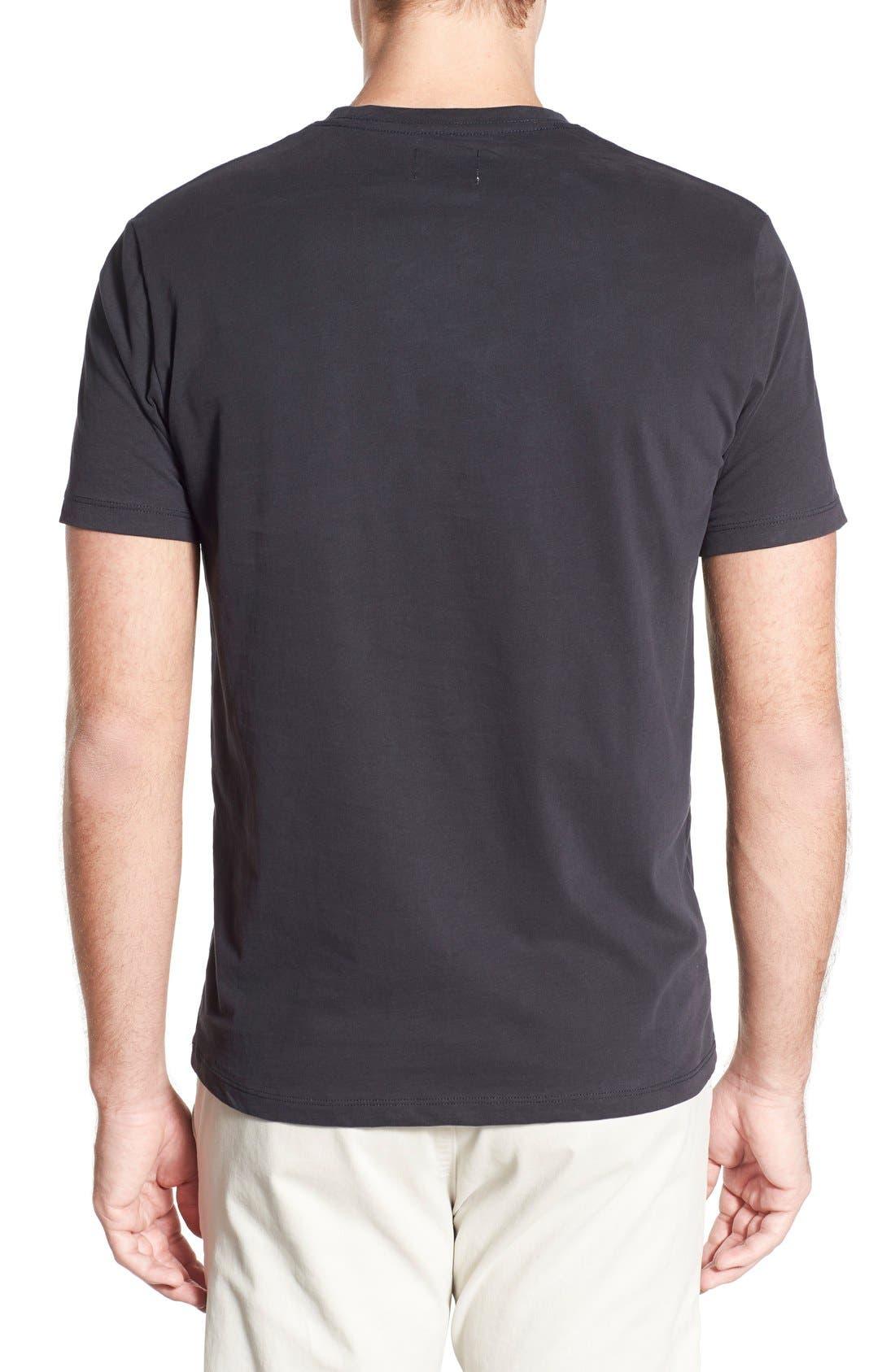 'Cliff' Crewneck T-Shirt,                             Alternate thumbnail 3, color,                             010