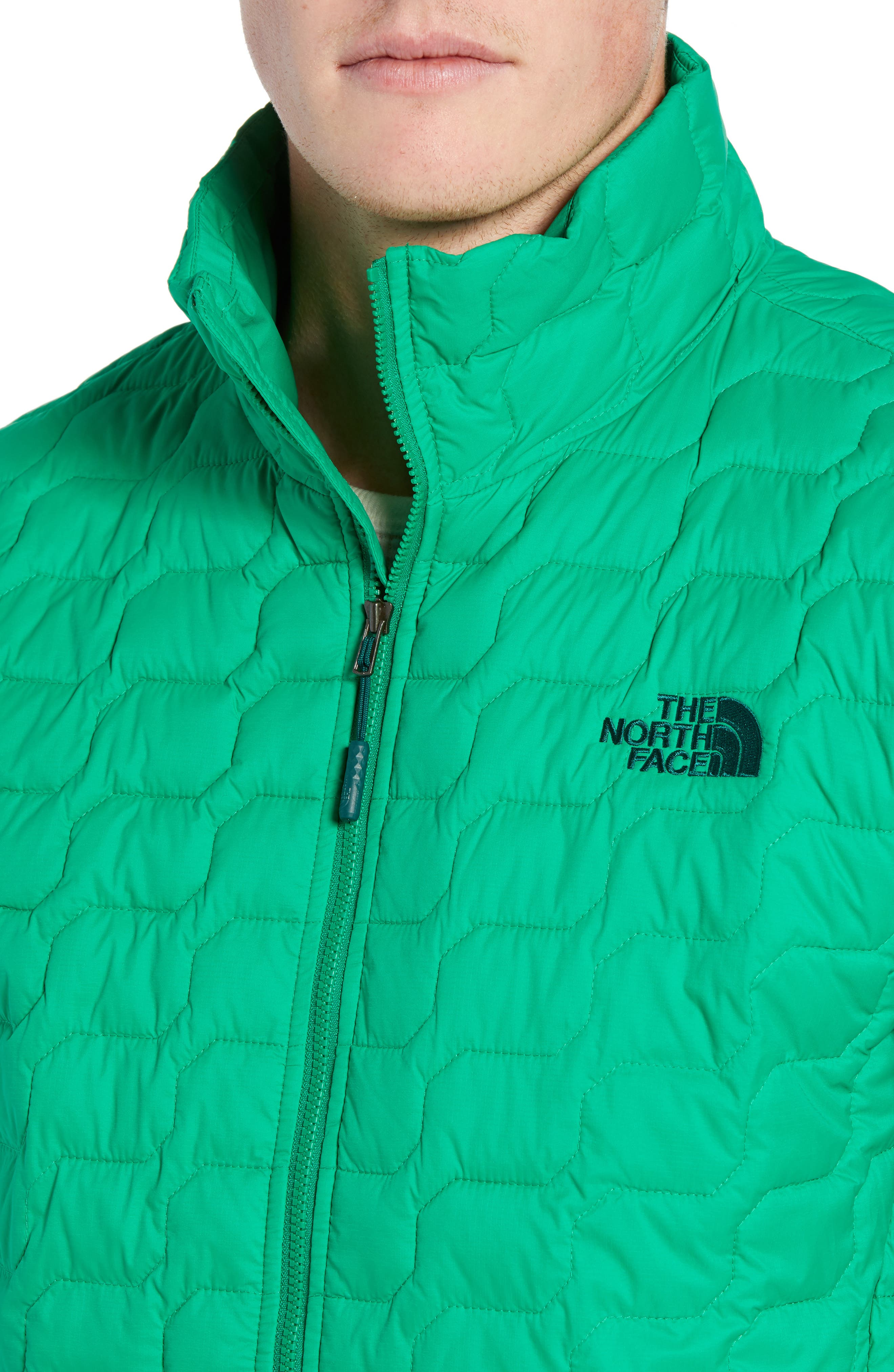 THE NORTH FACE,                             ThermoBall<sup>™</sup> Jacket,                             Alternate thumbnail 4, color,                             PRIMARY GREEN MATTE