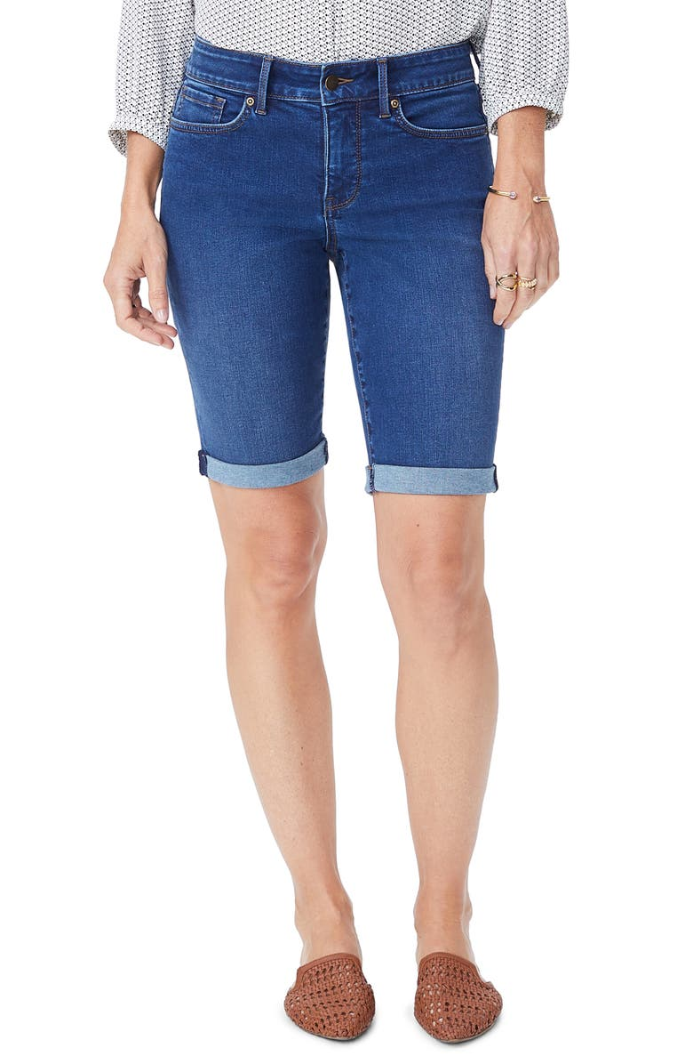 Nydj BRIELLA ROLLED DENIM BERMUDA SHORTS