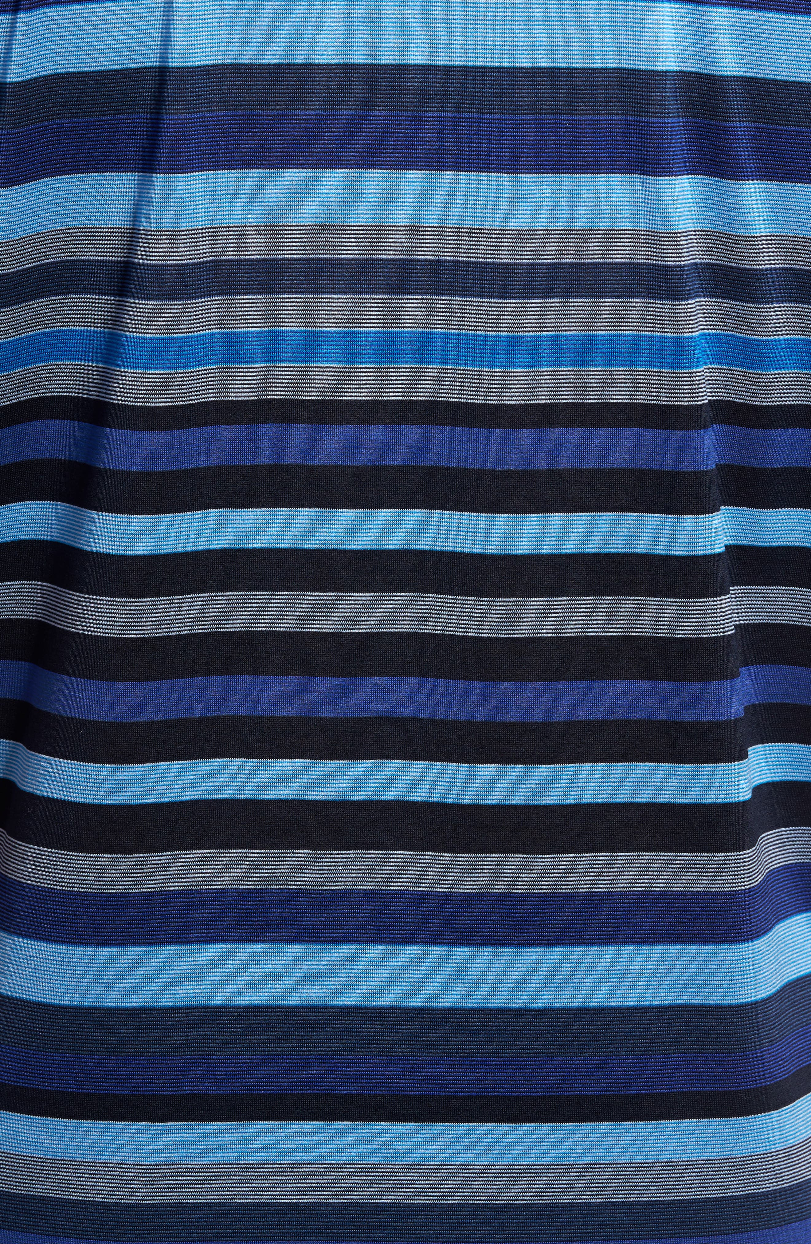 Classic Fit Stripe Jersey Polo,                             Alternate thumbnail 5, color,                             411