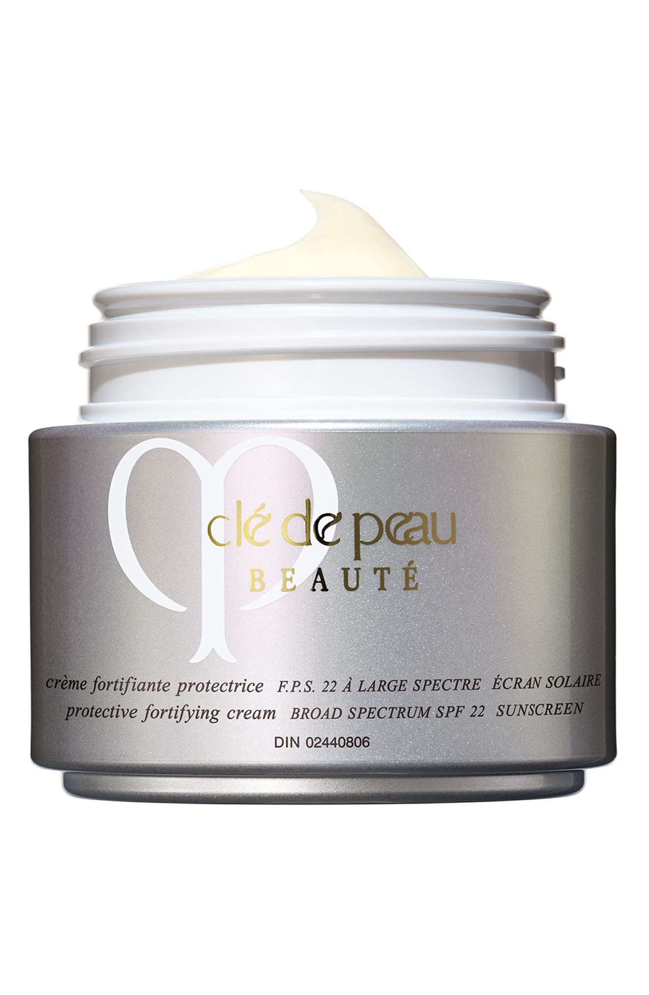 Protective Fortifying Cream Broad Spectrum SPF 22 Sunscreen,                             Alternate thumbnail 4, color,                             NO COLOR