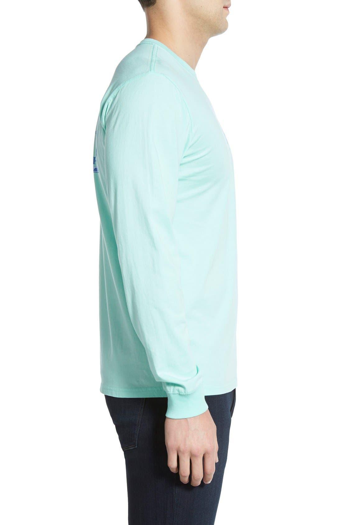 'Skipjack'Long Sleeve Graphic T-Shirt,                             Alternate thumbnail 16, color,