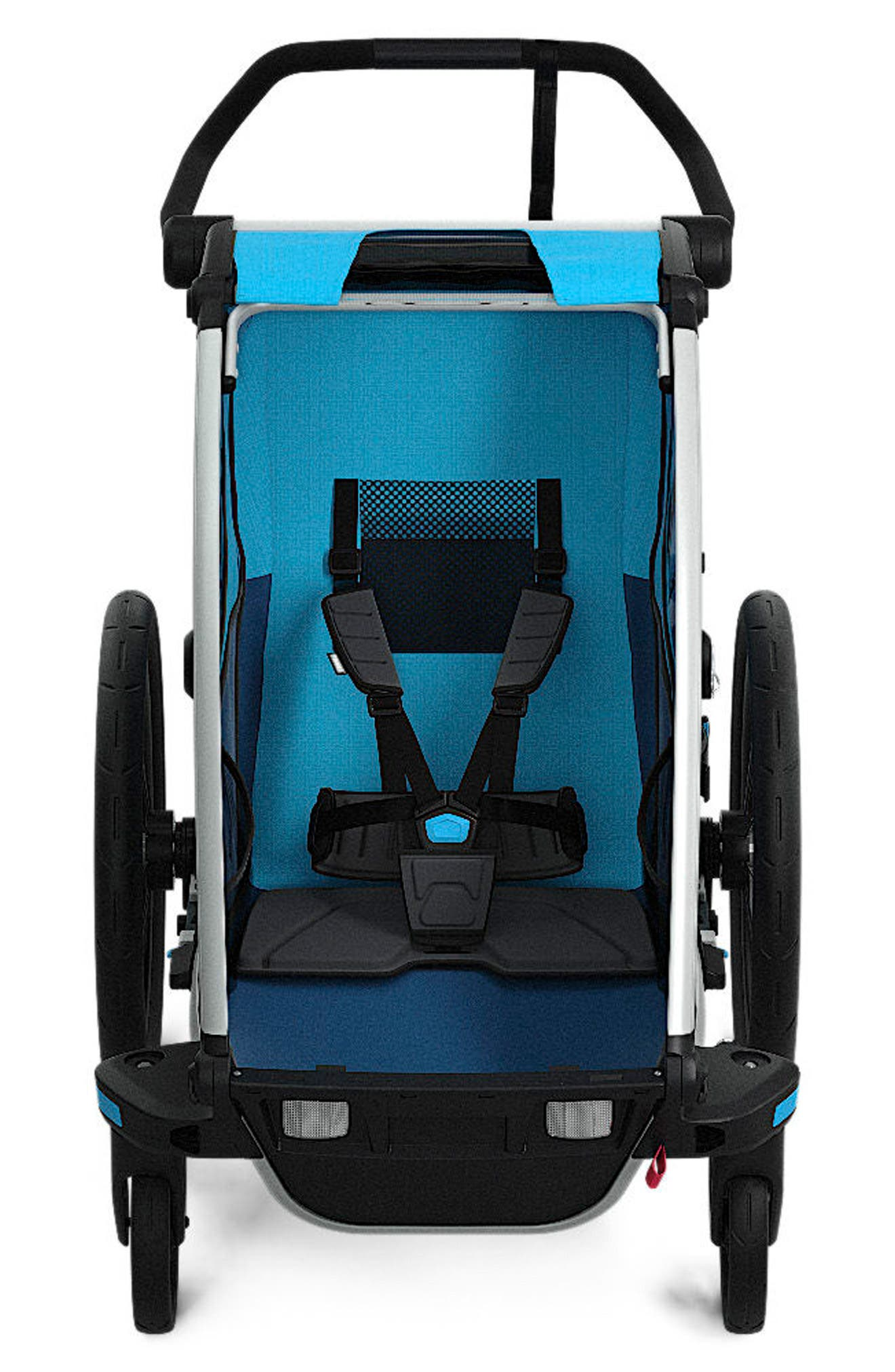 Chariot Cross 1 Multisport Cycle Trailer/Stroller,                         Main,                         color, THULE BLUE
