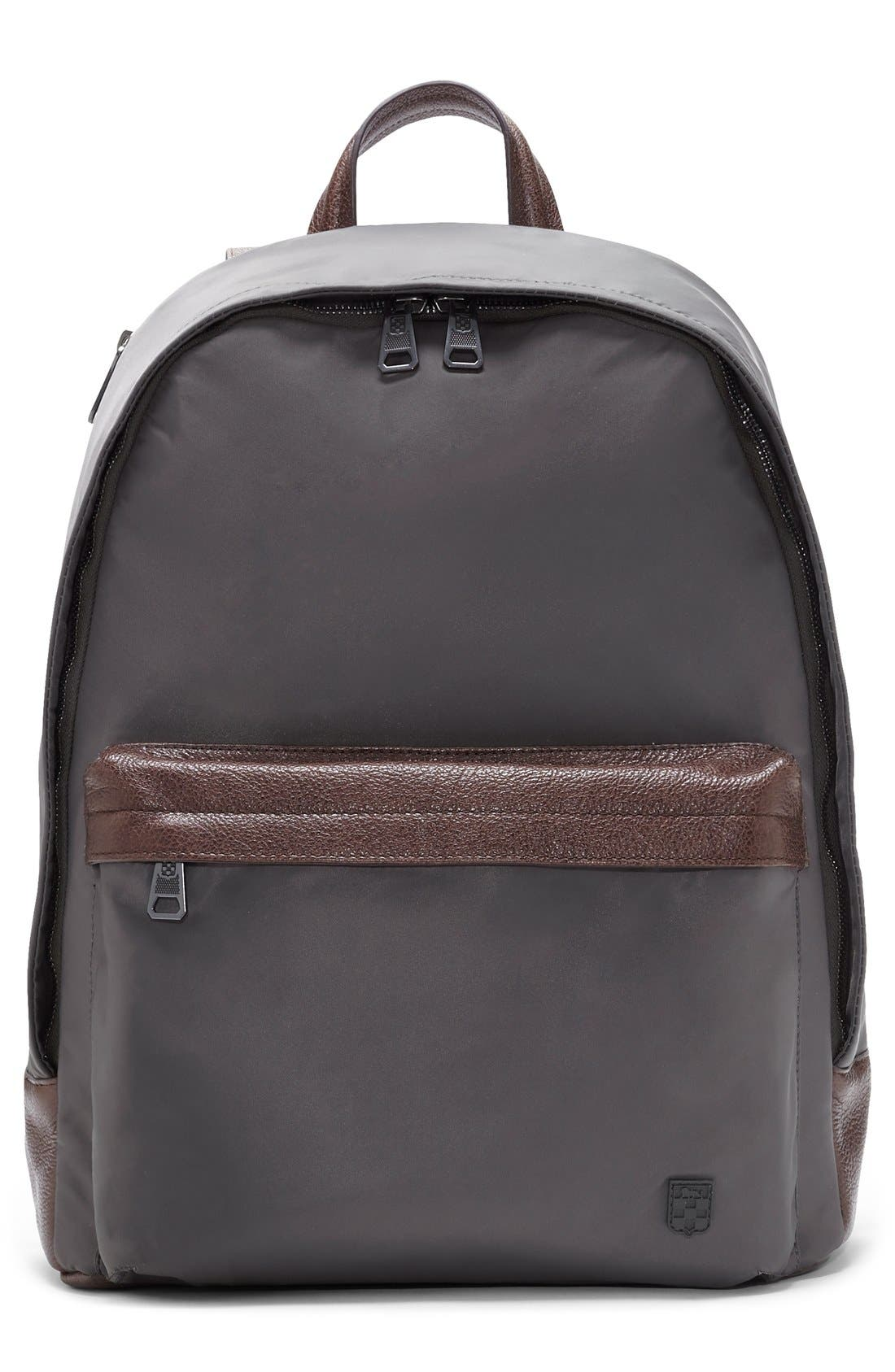 'Tolve' Nylon Backpack,                             Main thumbnail 1, color,                             021