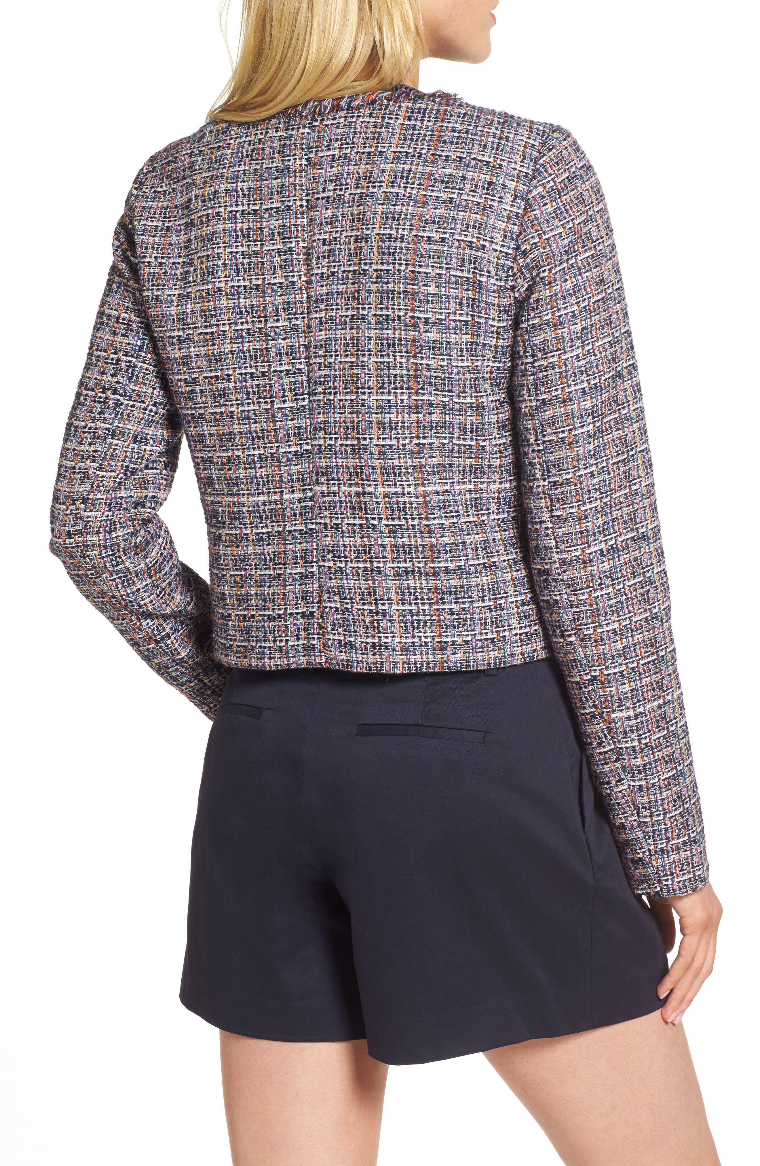 Tweed Jacket,                             Alternate thumbnail 2, color,
