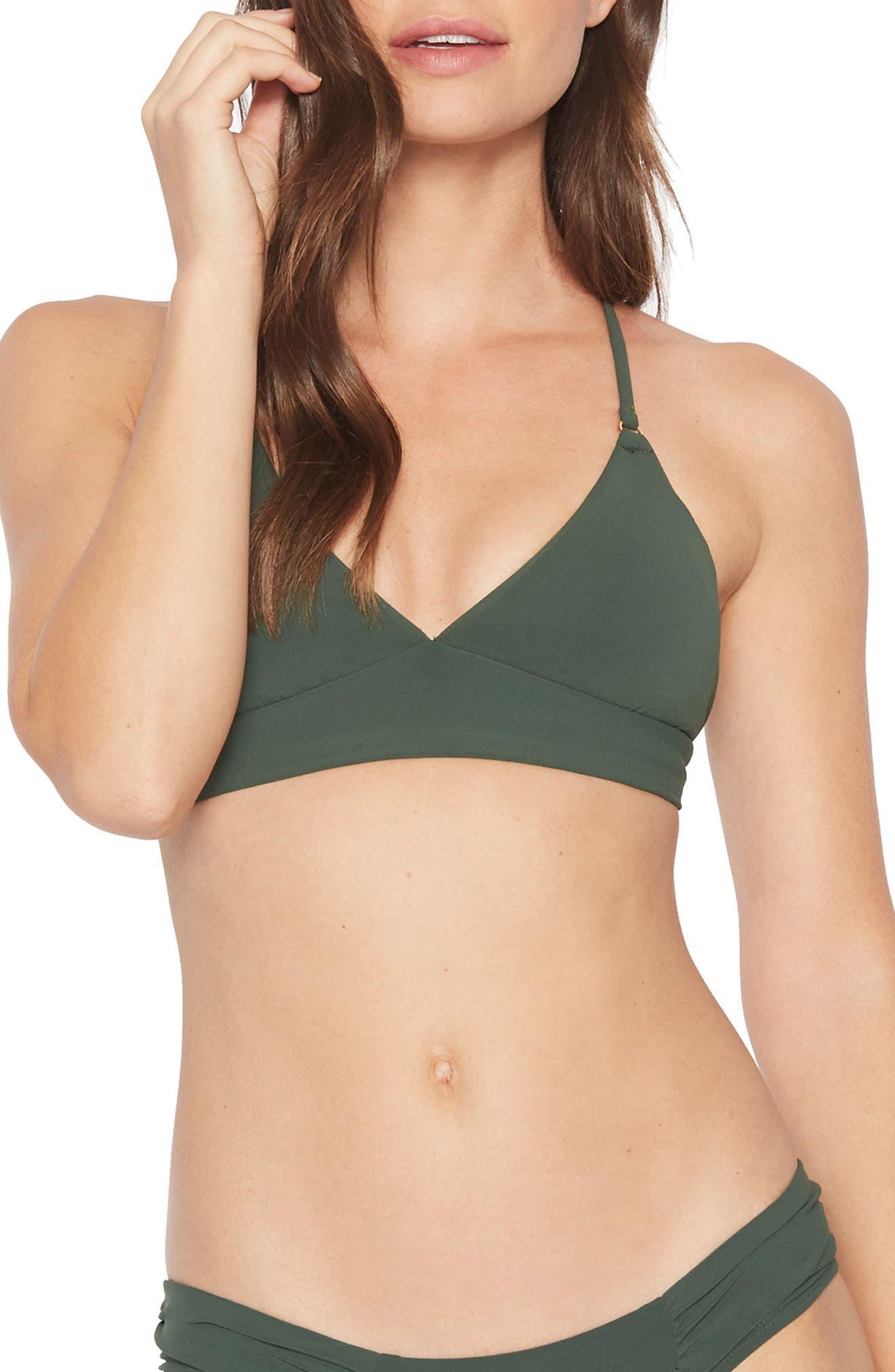 Ava Triangle Bikini Top,                         Main,                         color, 305