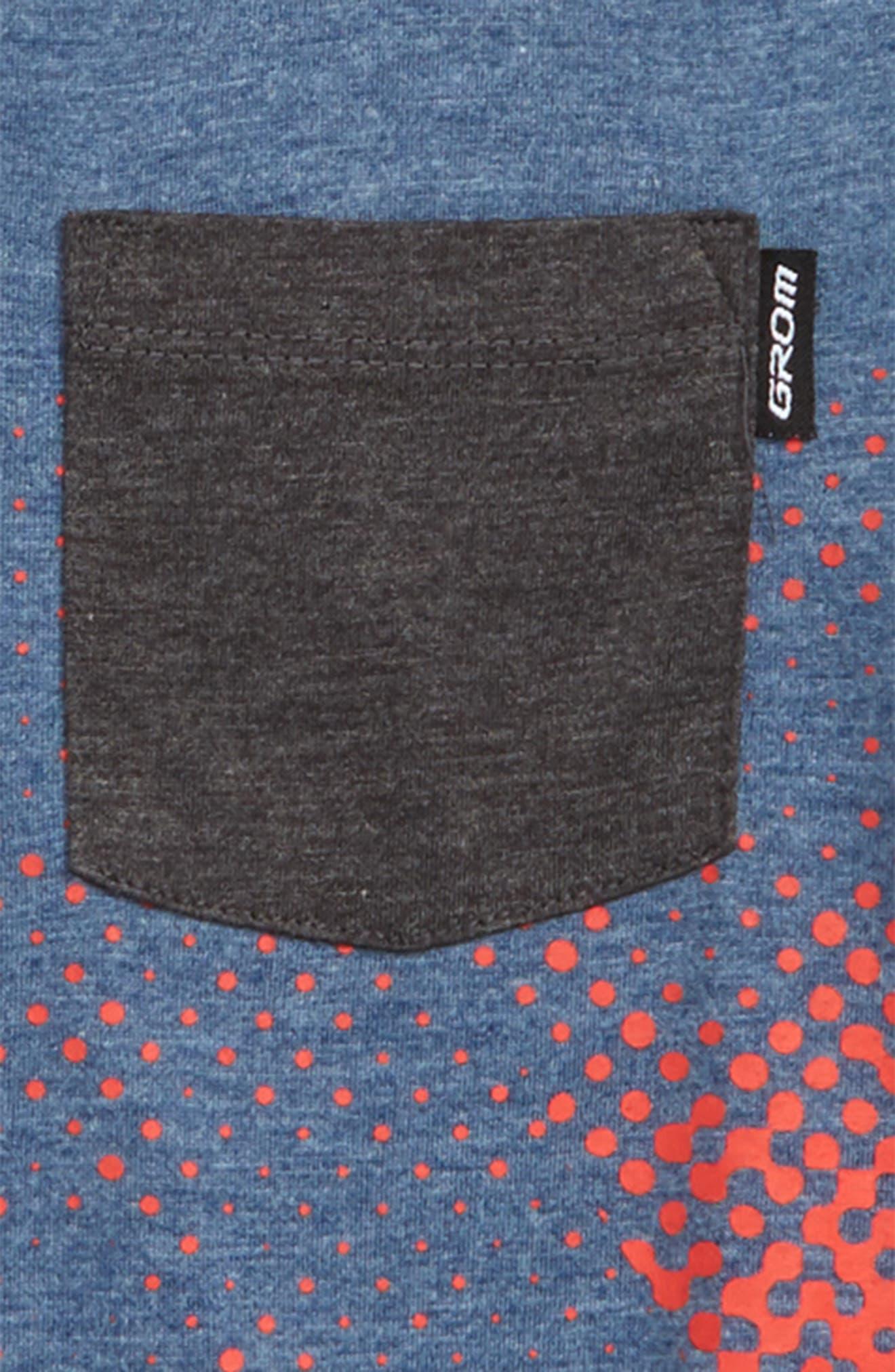 Snap Pocket T-Shirt,                             Alternate thumbnail 2, color,