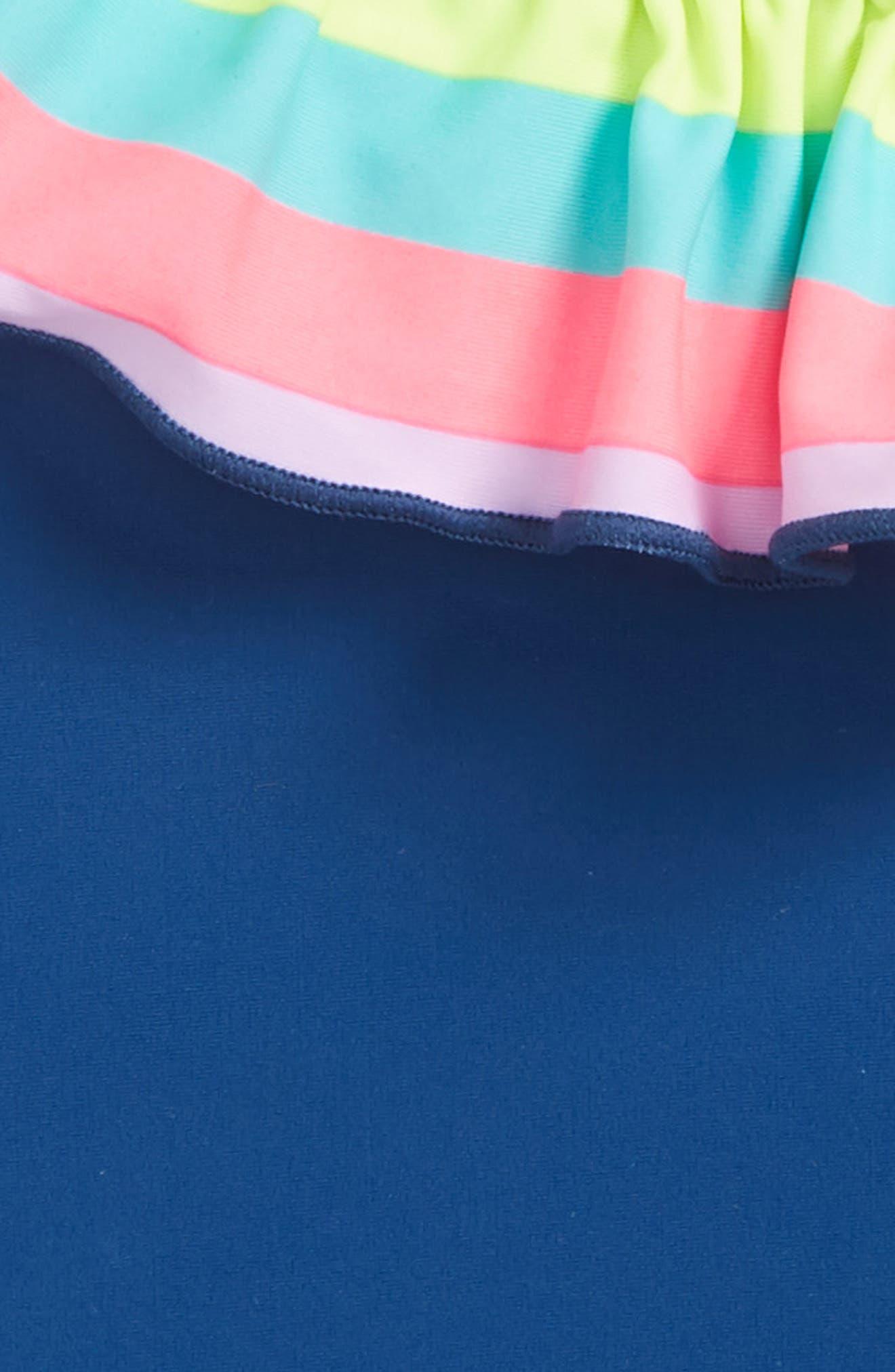 One Shoulder One-Piece Swimsuit,                             Alternate thumbnail 2, color,                             400