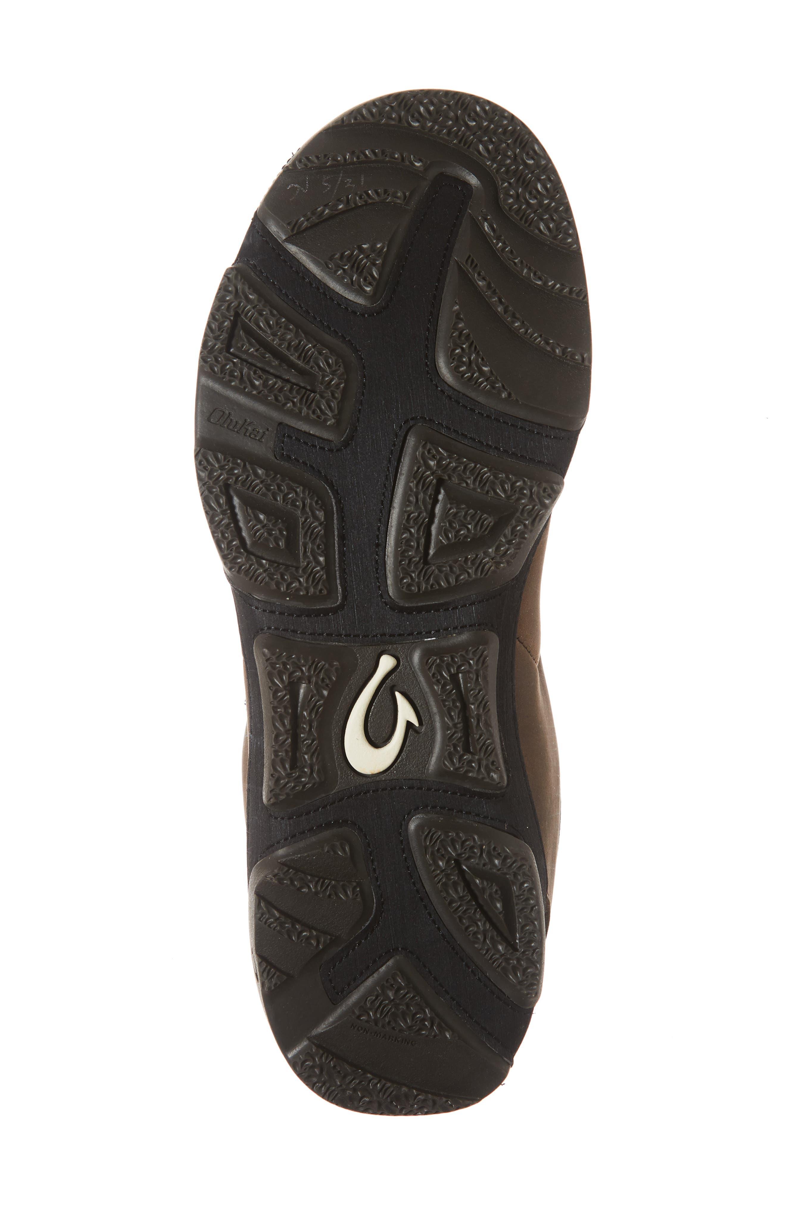 Makoa Waterproof Shoe,                             Alternate thumbnail 6, color,                             ESPRESSO/ BLACK LEATHER