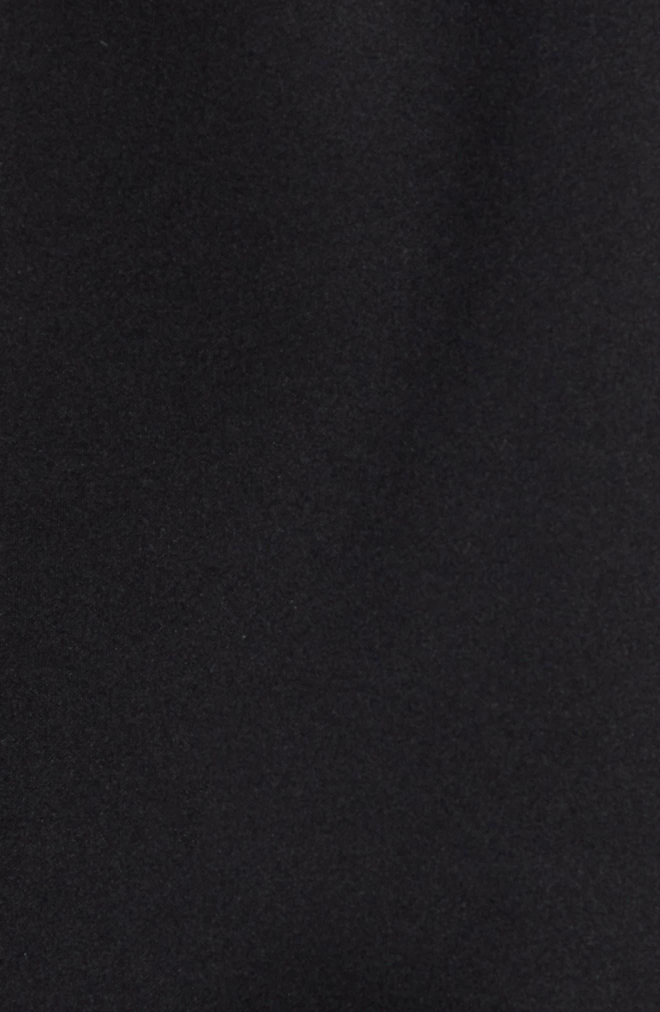 Tactic Hooded Fleece Jacket,                             Alternate thumbnail 7, color,                             BLACK