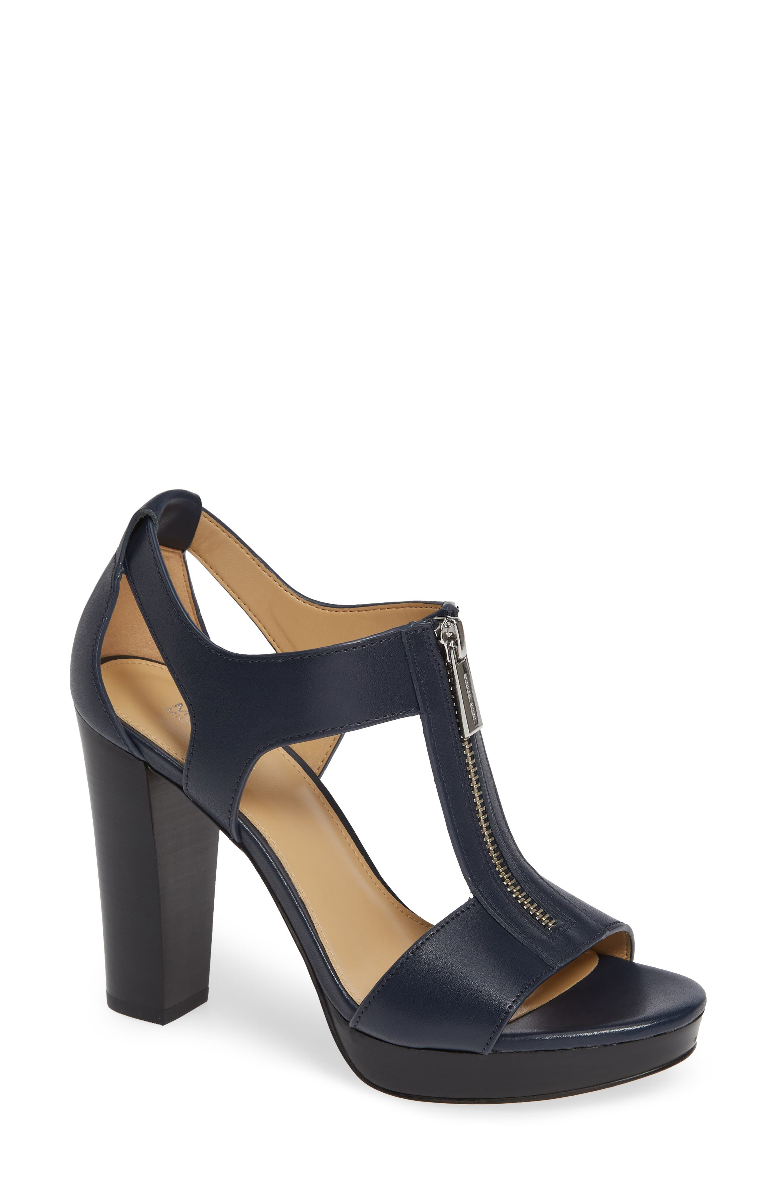 'Berkley' T-Strap Sandal,                         Main,                         color, ADMIRAL