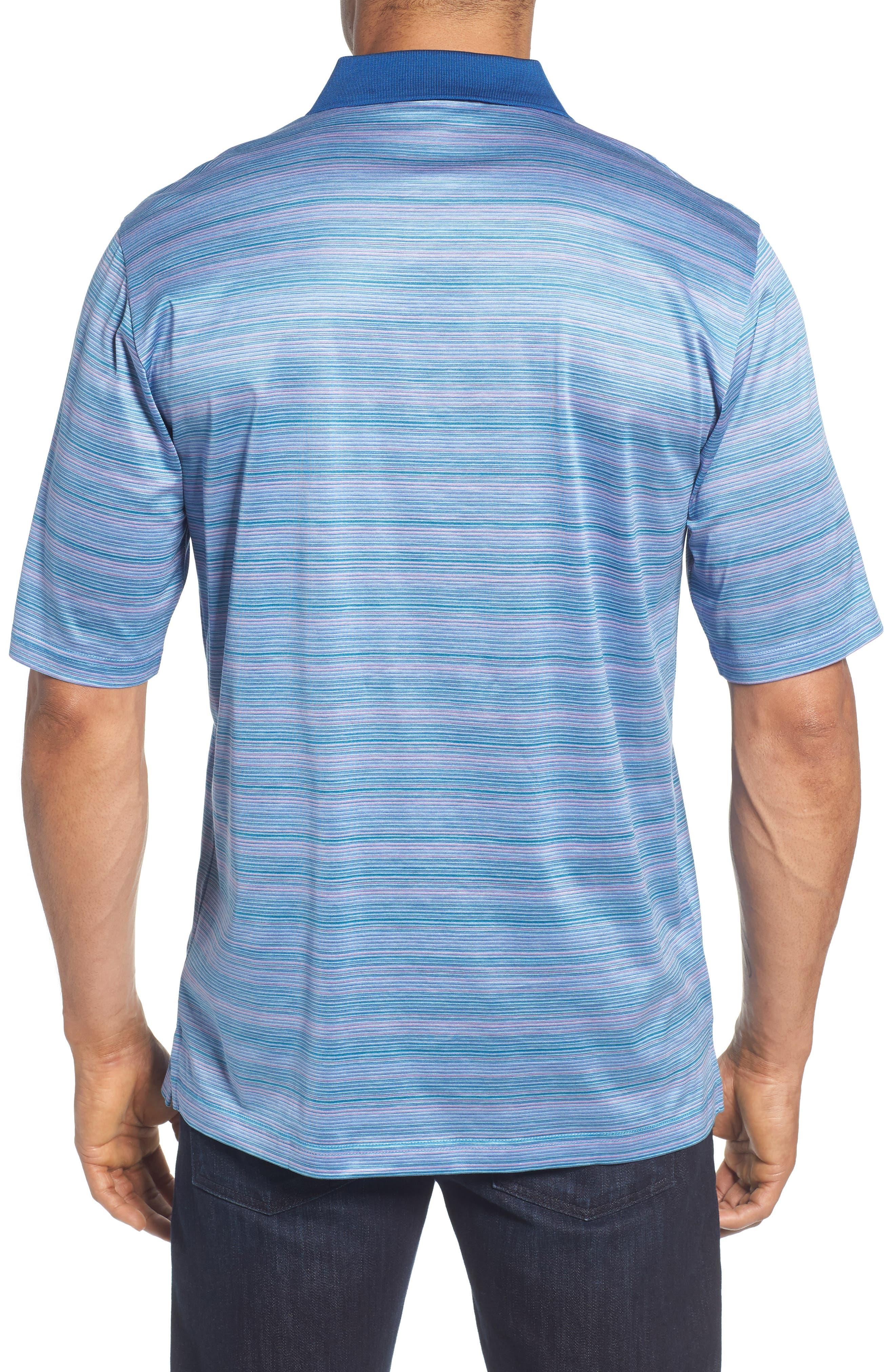 Stripe Mercerized Cotton Polo,                             Alternate thumbnail 2, color,                             513