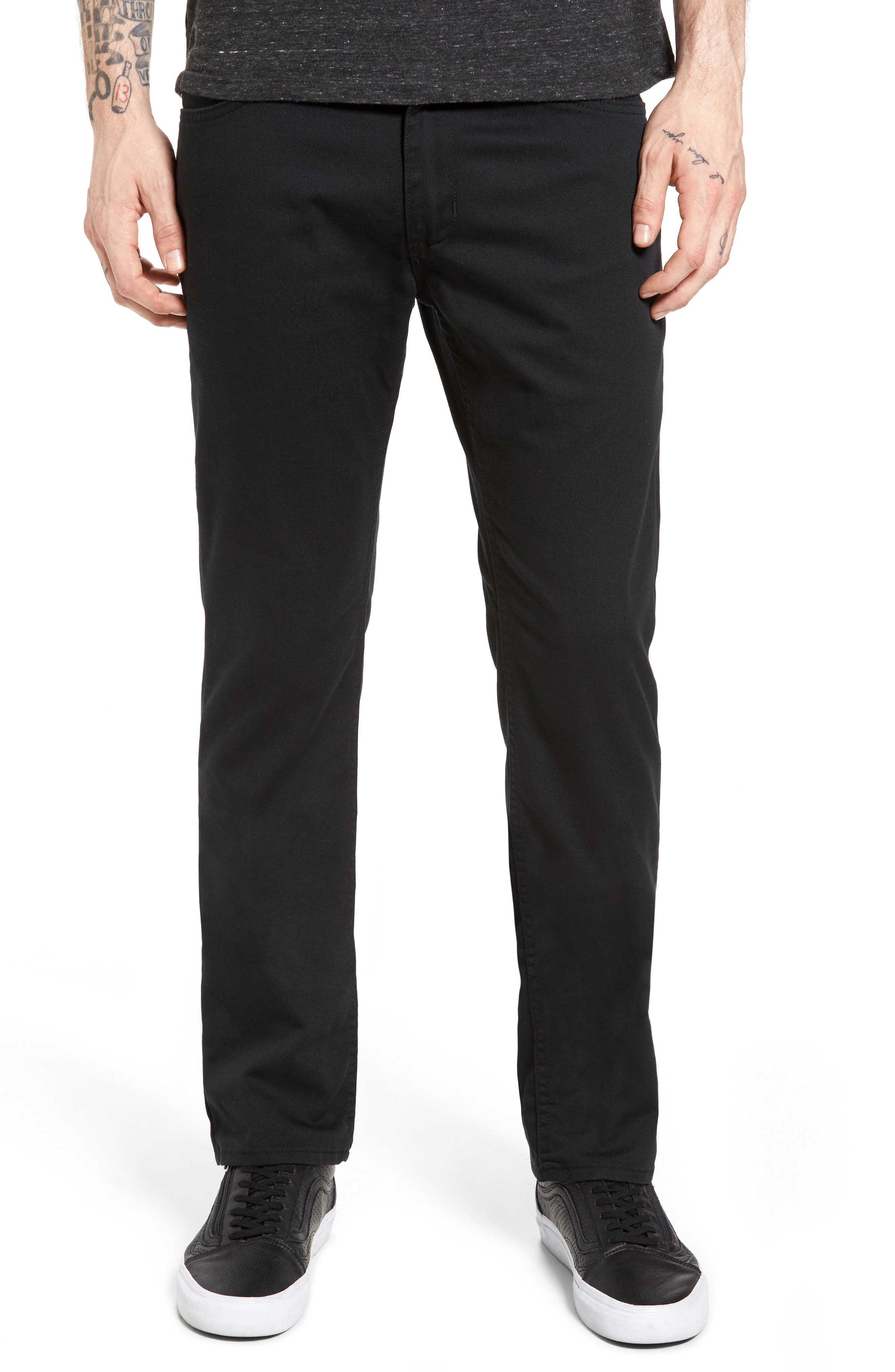 V56 Covina II Slim Fit Pants,                             Alternate thumbnail 2, color,                             001