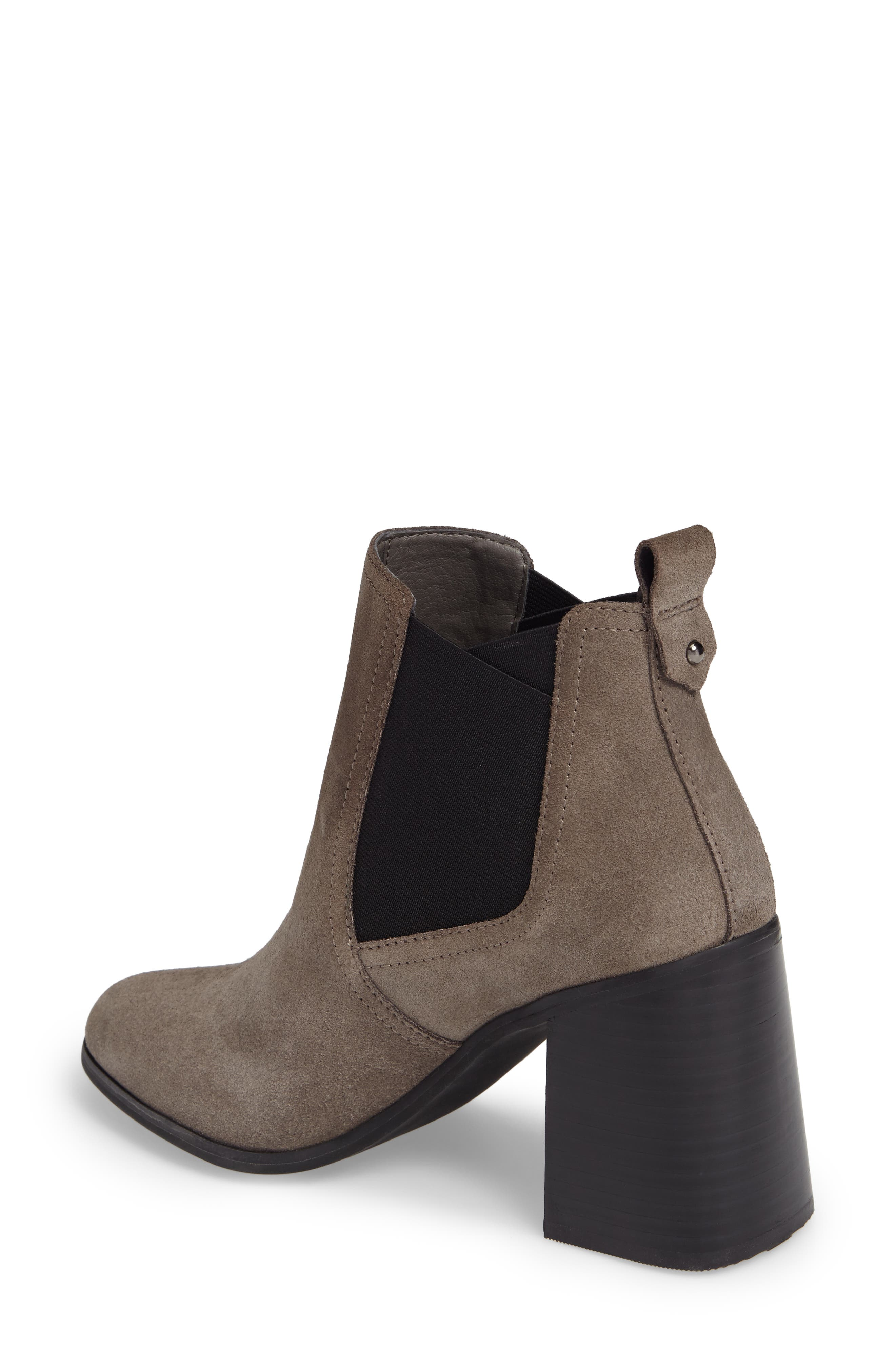 Quinn Flared Heel Chelsea Bootie,                             Alternate thumbnail 8, color,