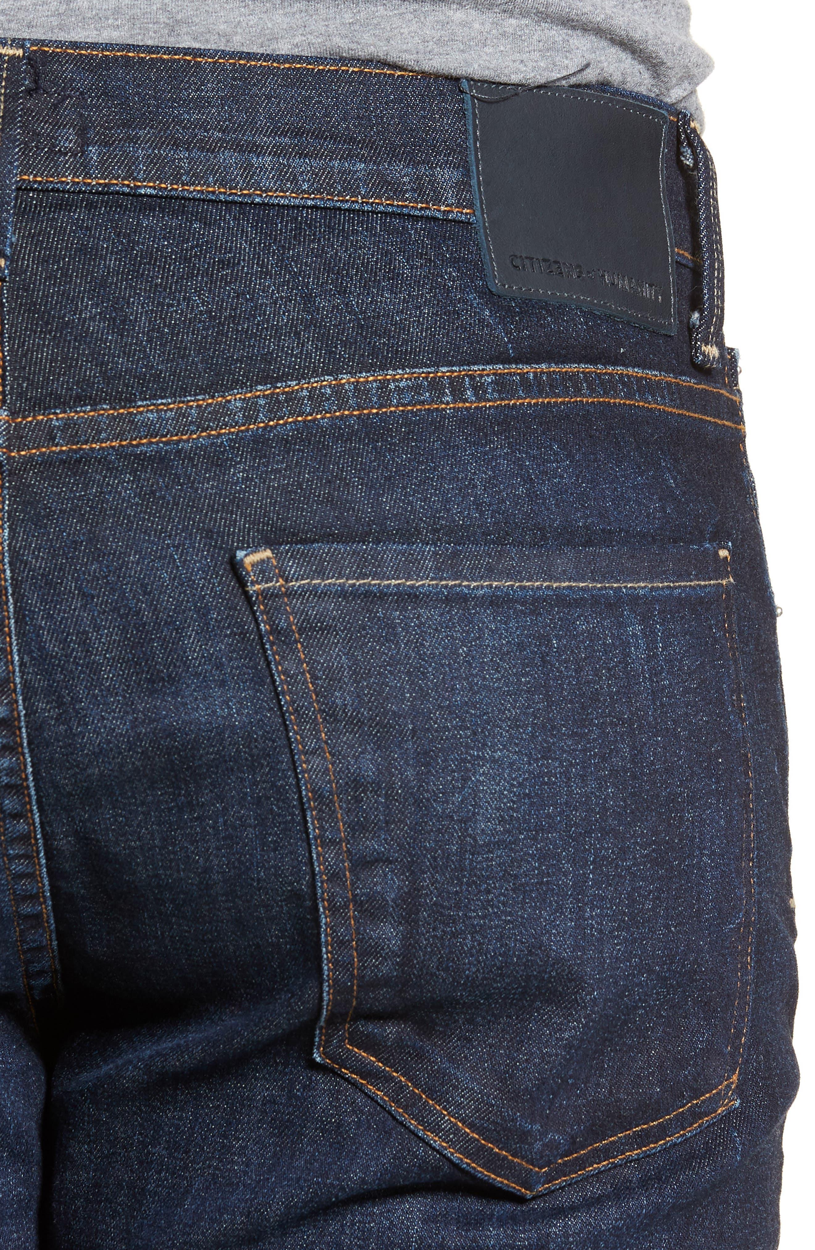 Sid Straight Leg Jeans,                             Alternate thumbnail 4, color,                             EMERY