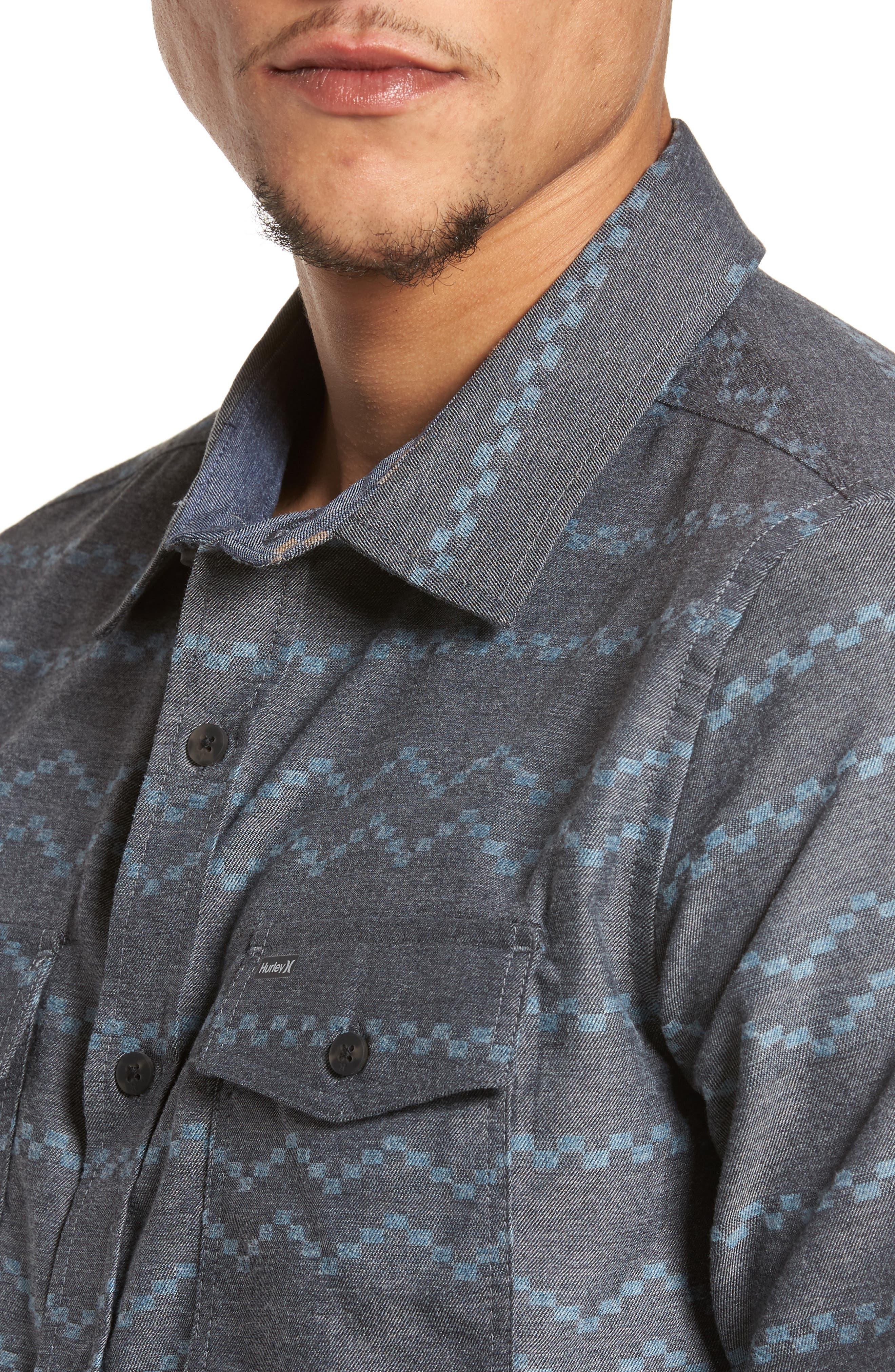 Pismo Dry Flannel Shirt,                             Alternate thumbnail 4, color,                             010