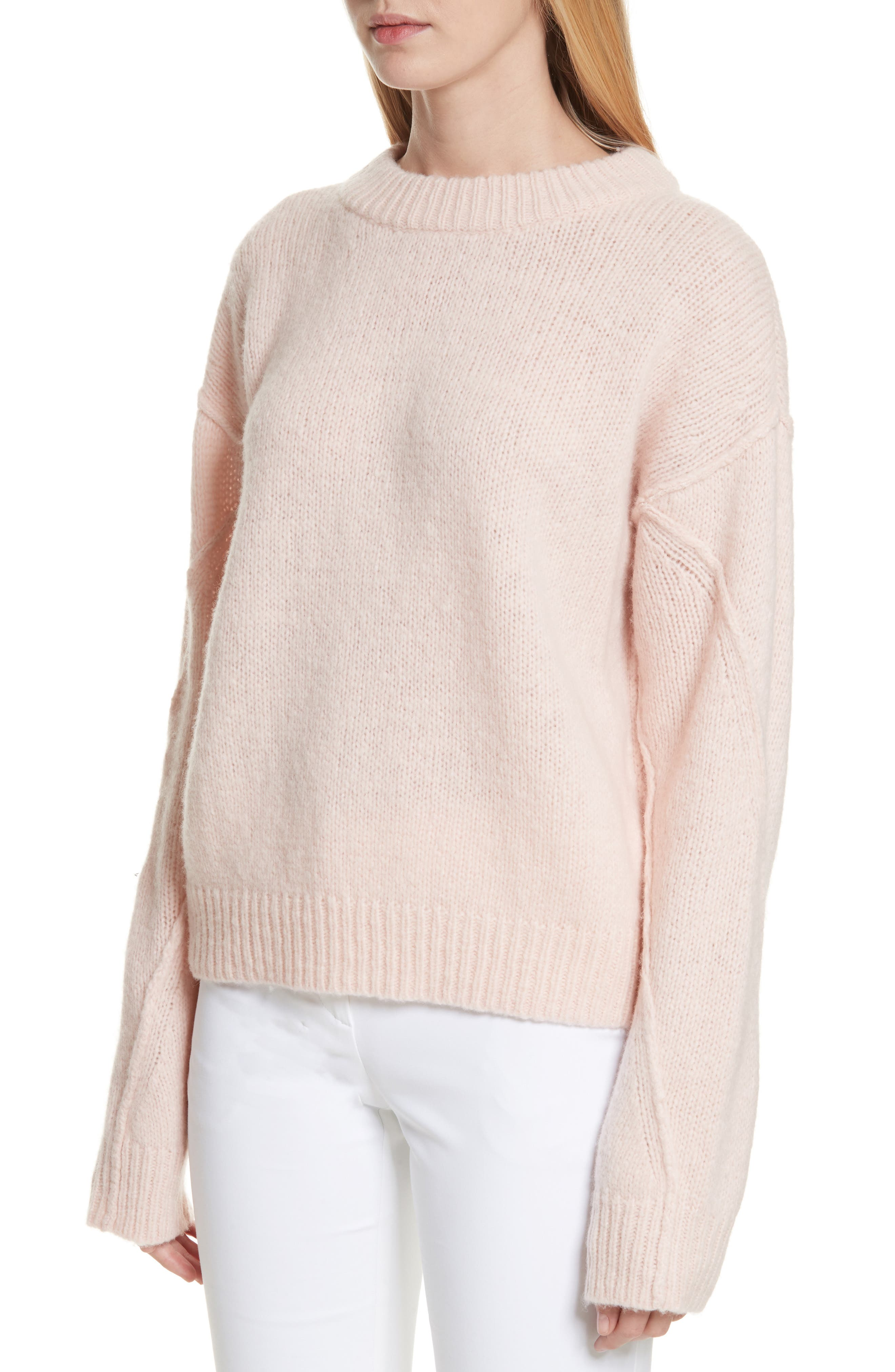 Eva Sweater with Removable Turtleneck,                             Alternate thumbnail 4, color,                             650