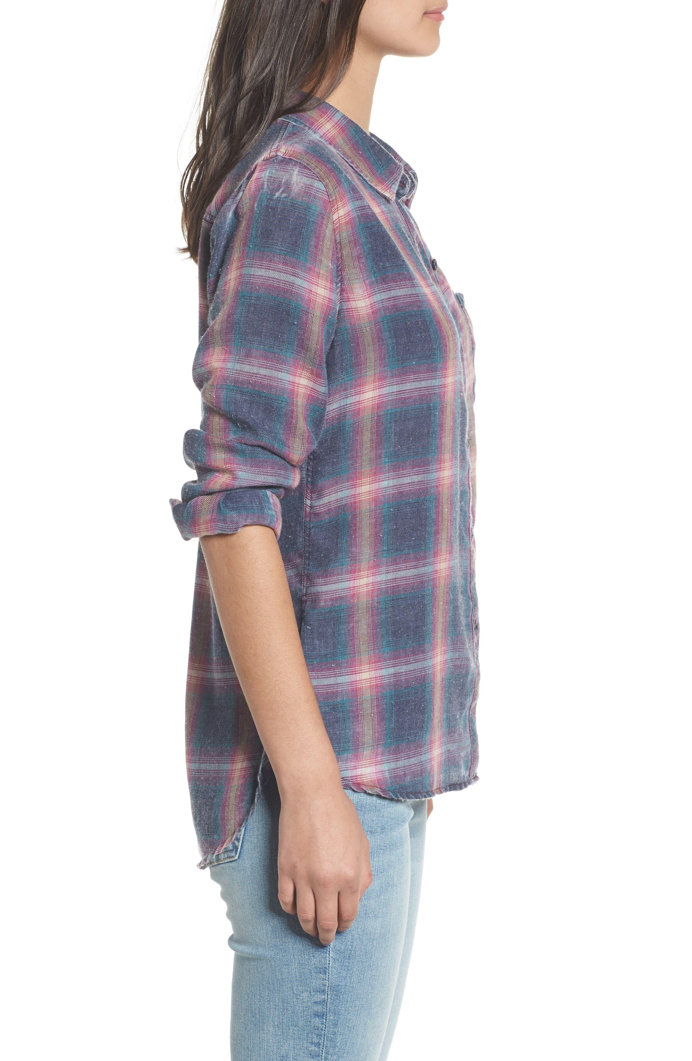 Hunter Plaid Shirt,                             Alternate thumbnail 337, color,