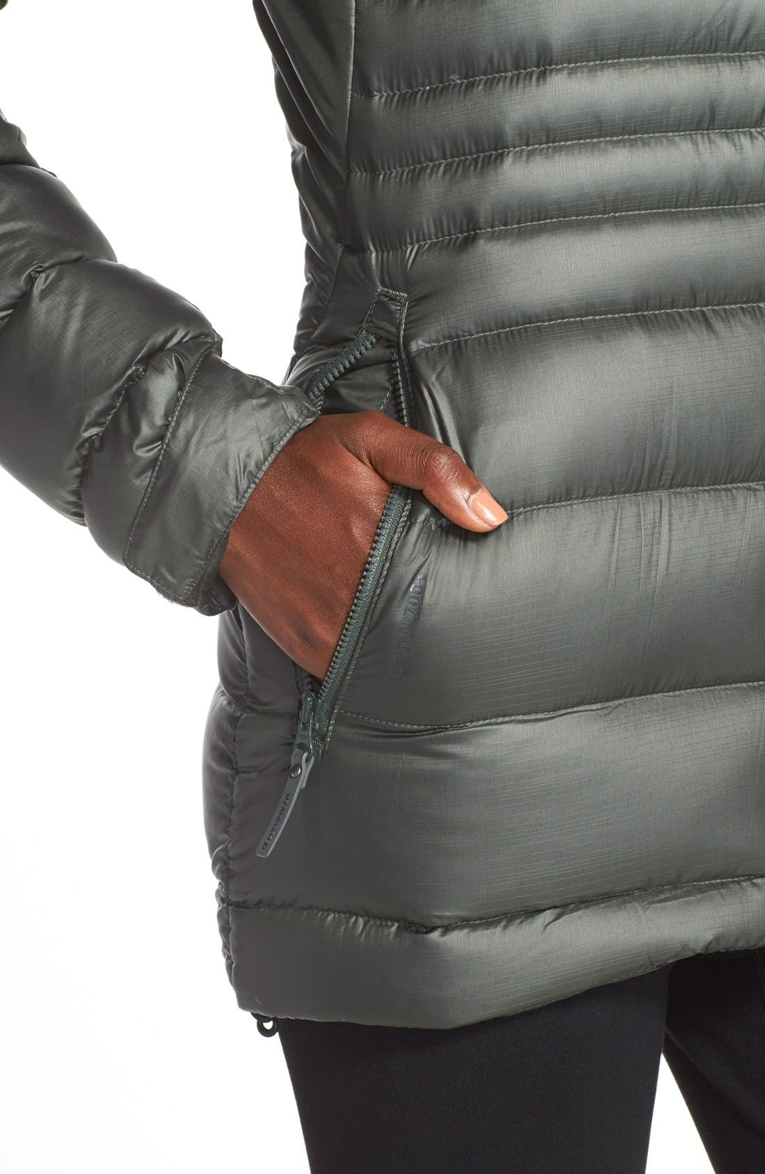 Helly Hansen Icefall Quilted Down Jacket,                             Alternate thumbnail 6, color,                             021