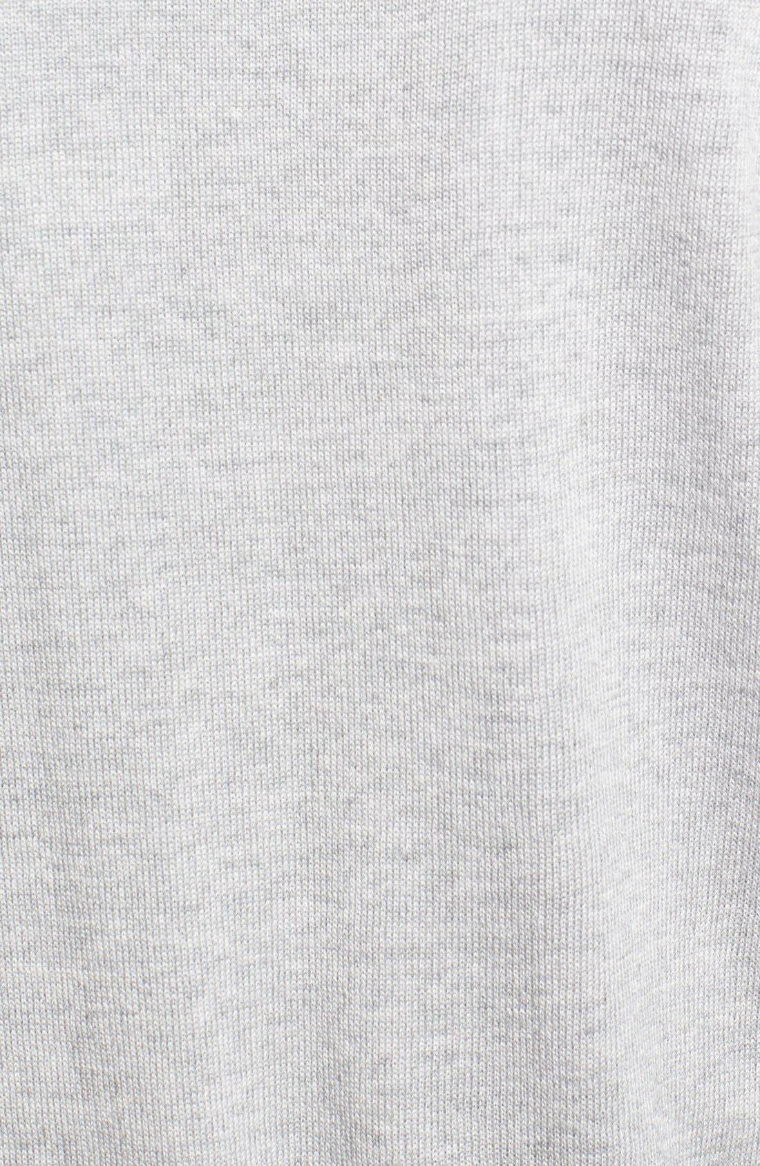 Italian Merino Wool Cardigan Sweater,                             Alternate thumbnail 3, color,                             050