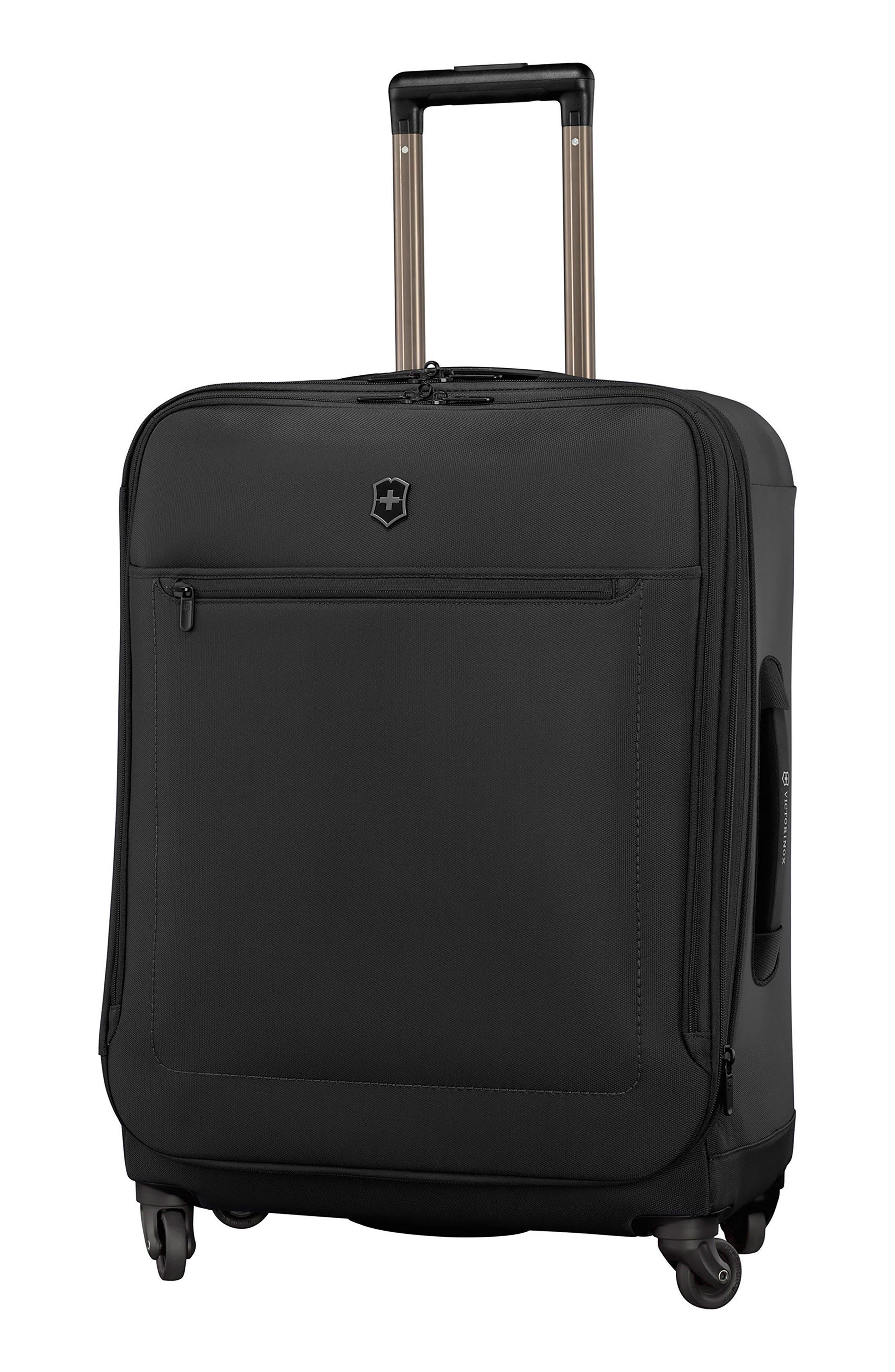 Avolve 3.0 27-Inch Wheeled Packing Case,                             Main thumbnail 1, color,                             BLACK