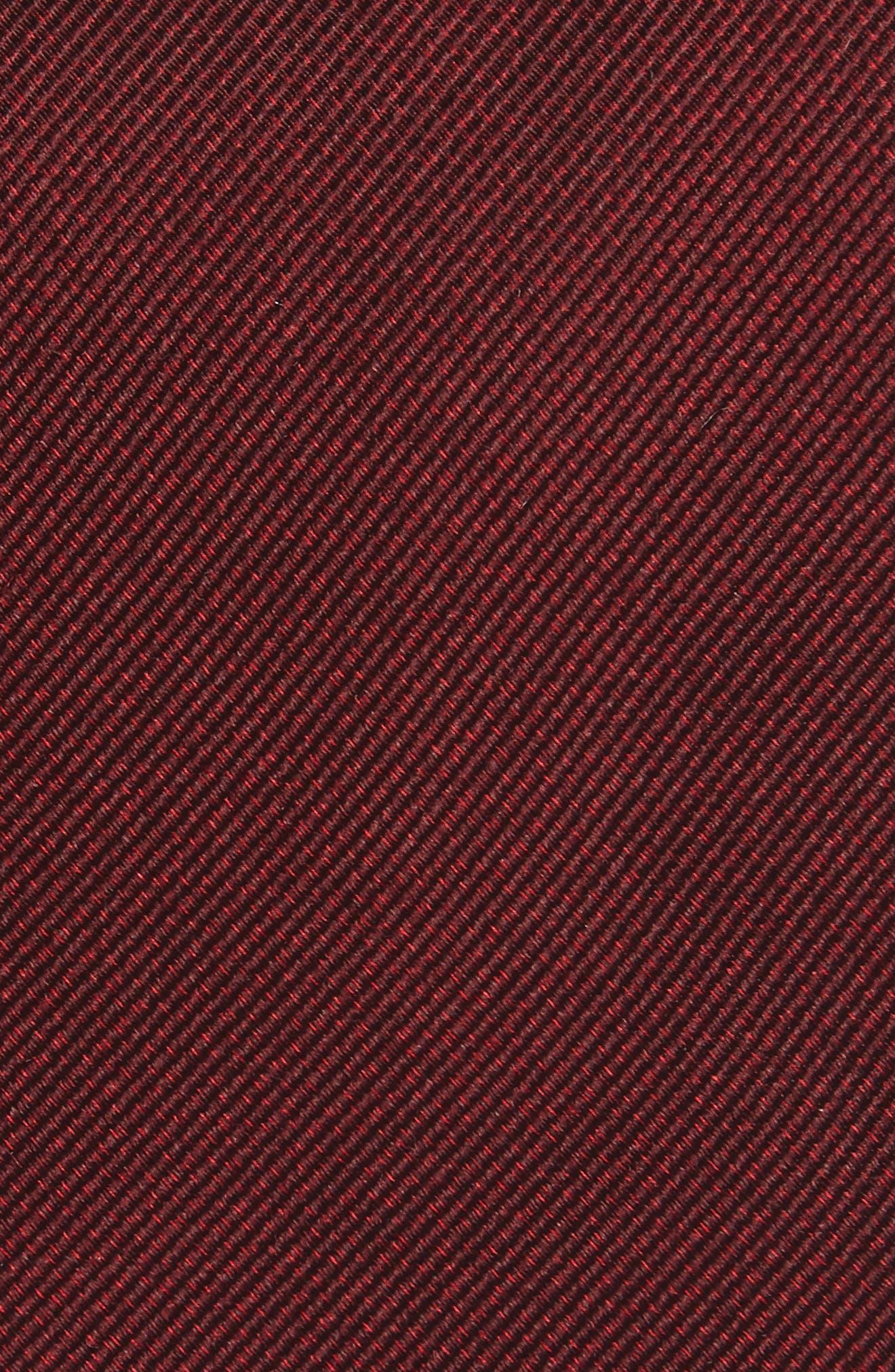 Mesa Solid Silk Tie,                             Alternate thumbnail 6, color,