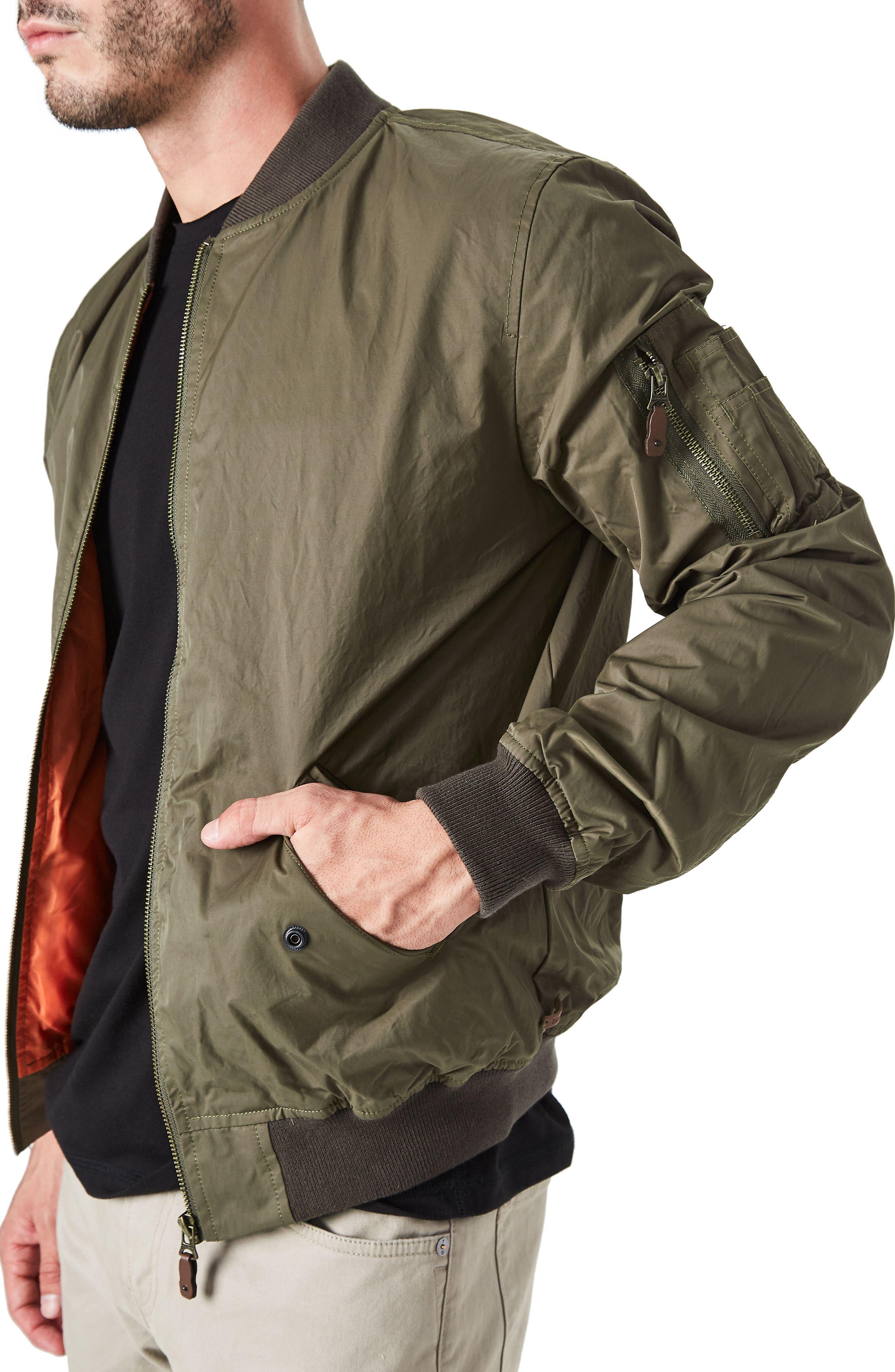 Maverick Bomber Jacket,                             Alternate thumbnail 4, color,                             351