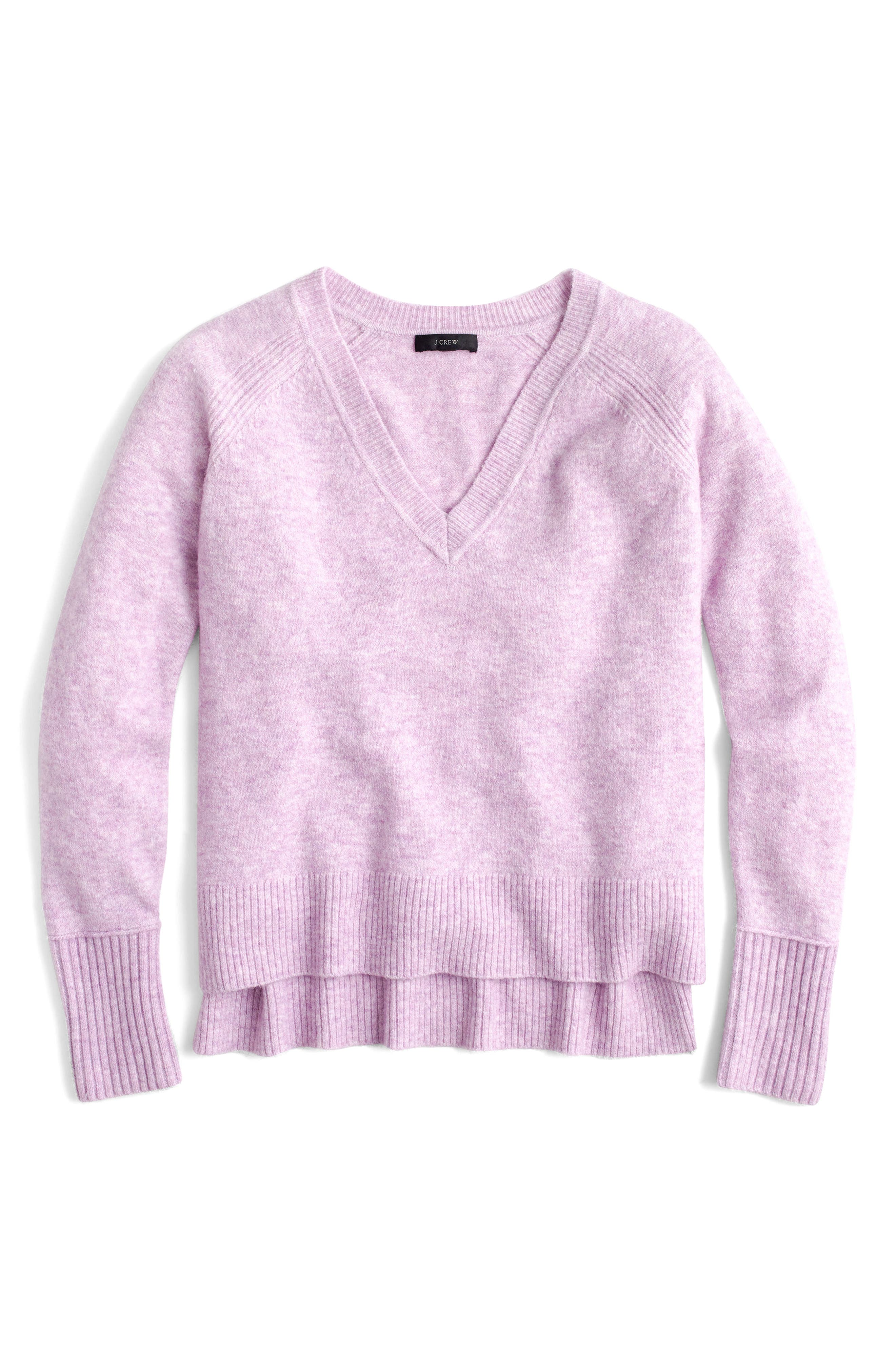 Supersoft Yarn V-Neck Sweater,                             Main thumbnail 10, color,