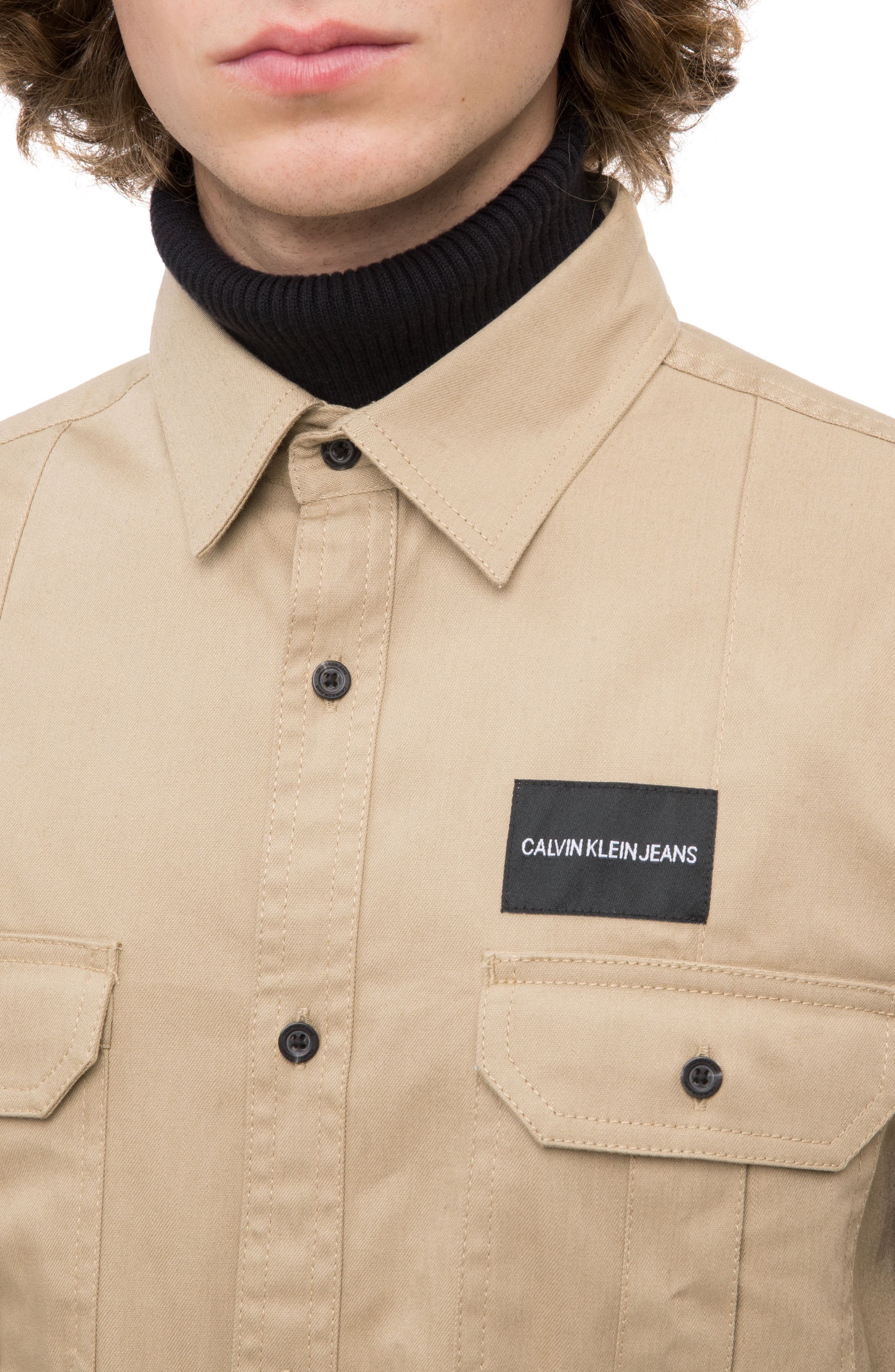 Military Shirt,                             Alternate thumbnail 2, color,                             CANTUCCI