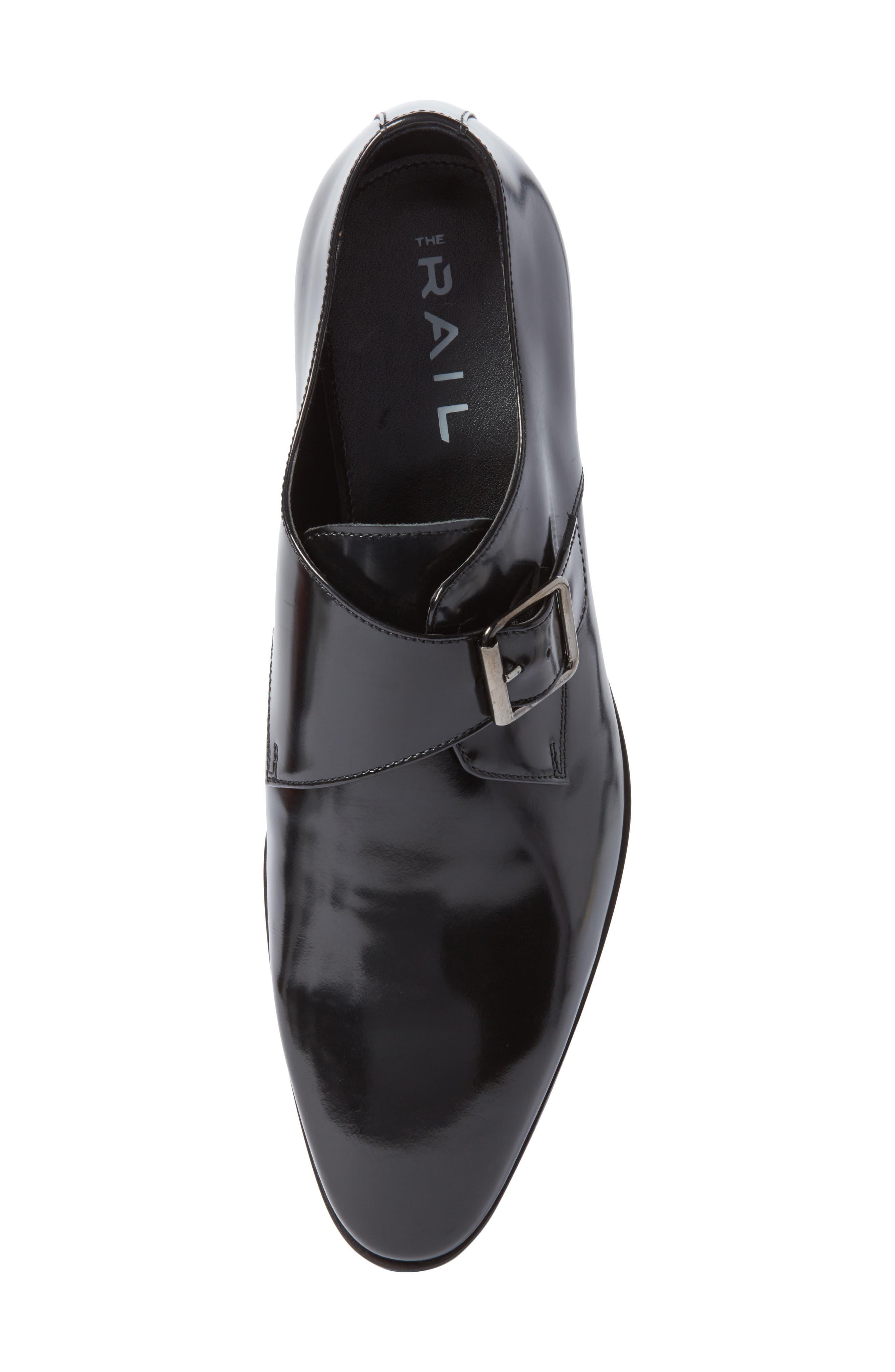Webster Single Strap Monk Shoe,                             Alternate thumbnail 5, color,                             001