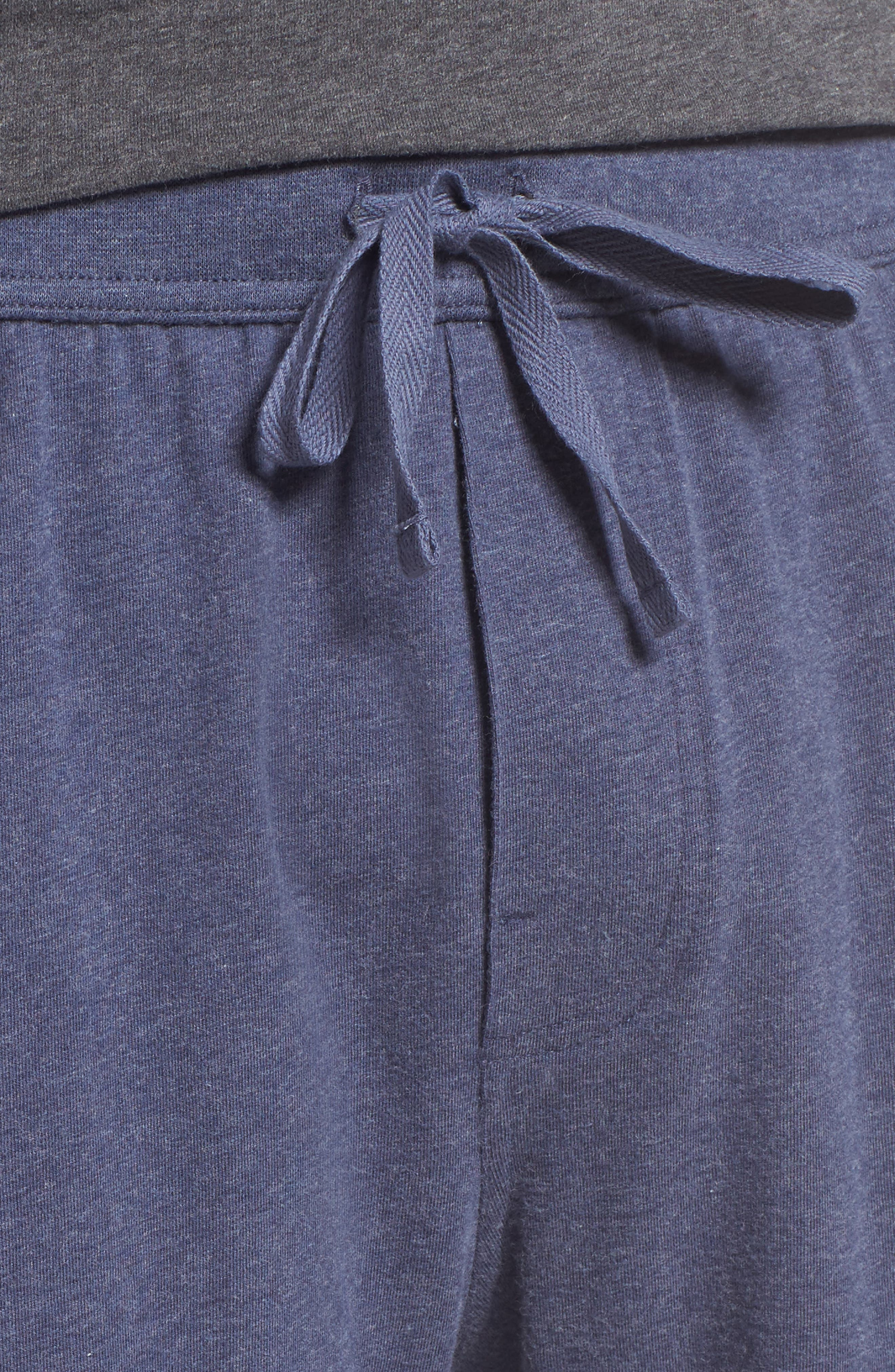 Stretch Cotton Lounge Shorts,                             Alternate thumbnail 8, color,