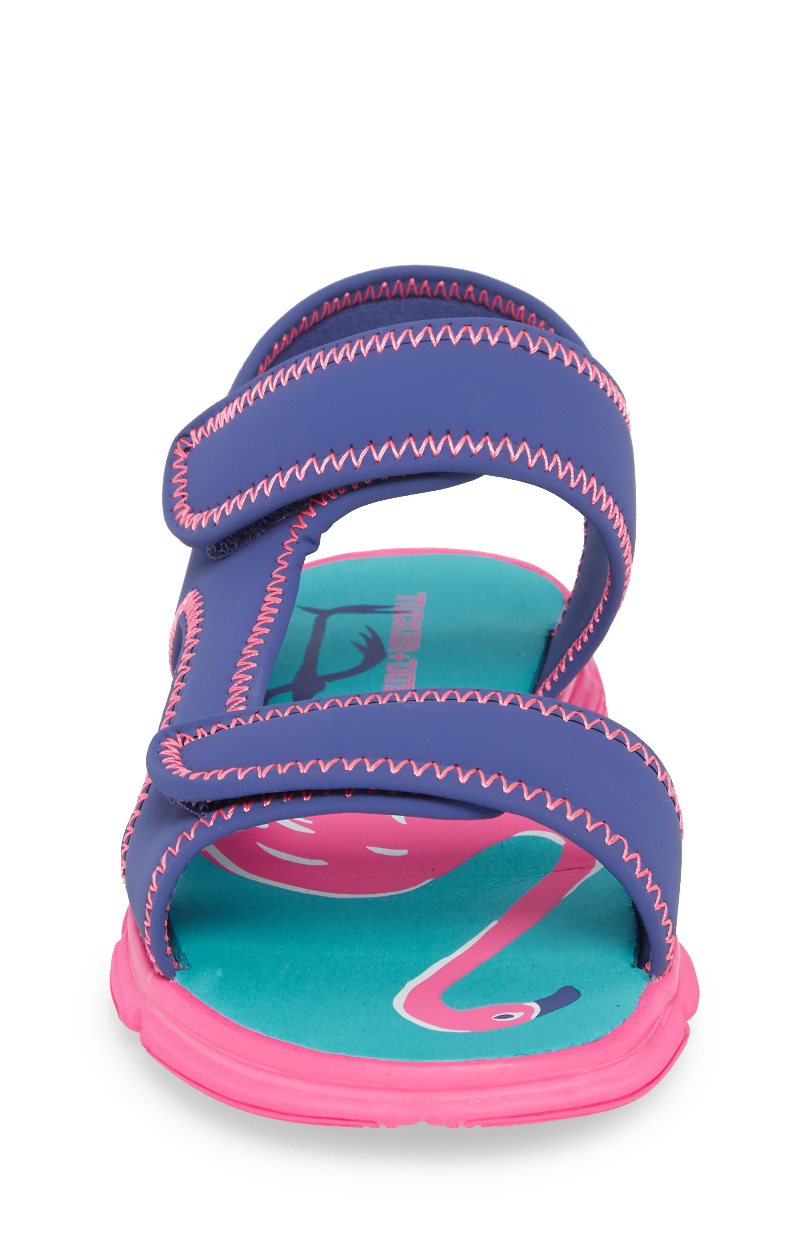 Everly Water Sandal,                             Alternate thumbnail 4, color,