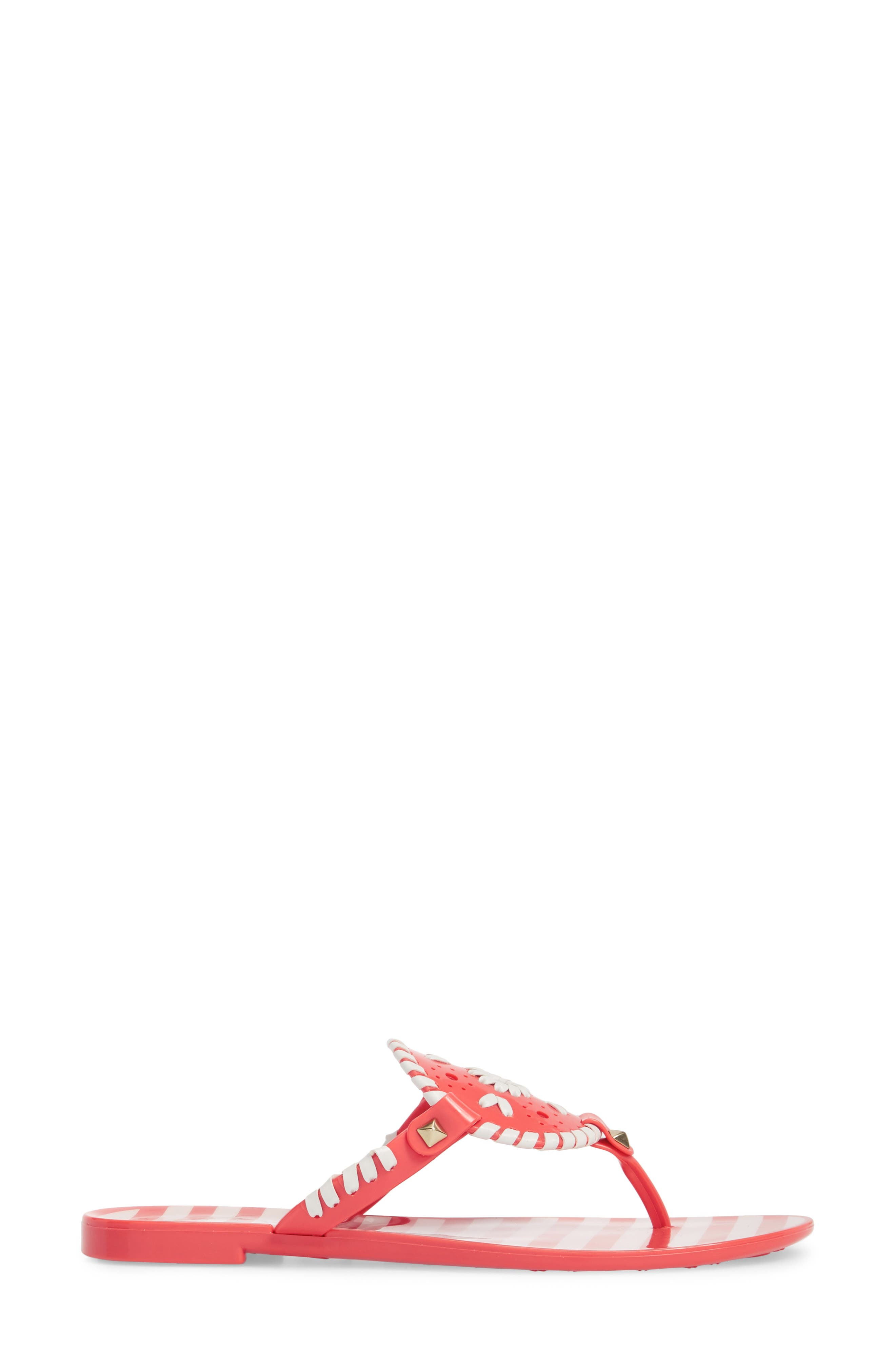 'Georgica' Jelly Flip Flop,                             Alternate thumbnail 93, color,