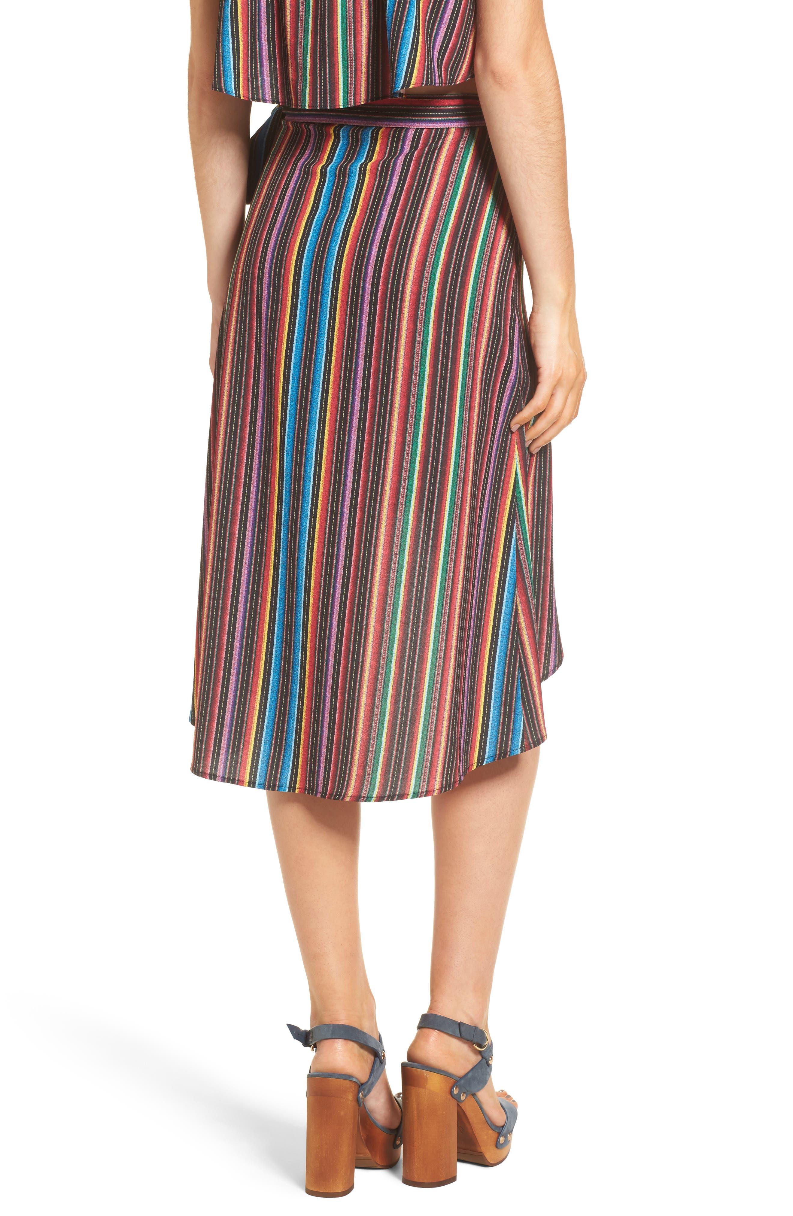 Panama Tassel Wrap Skirt,                             Alternate thumbnail 2, color,                             001