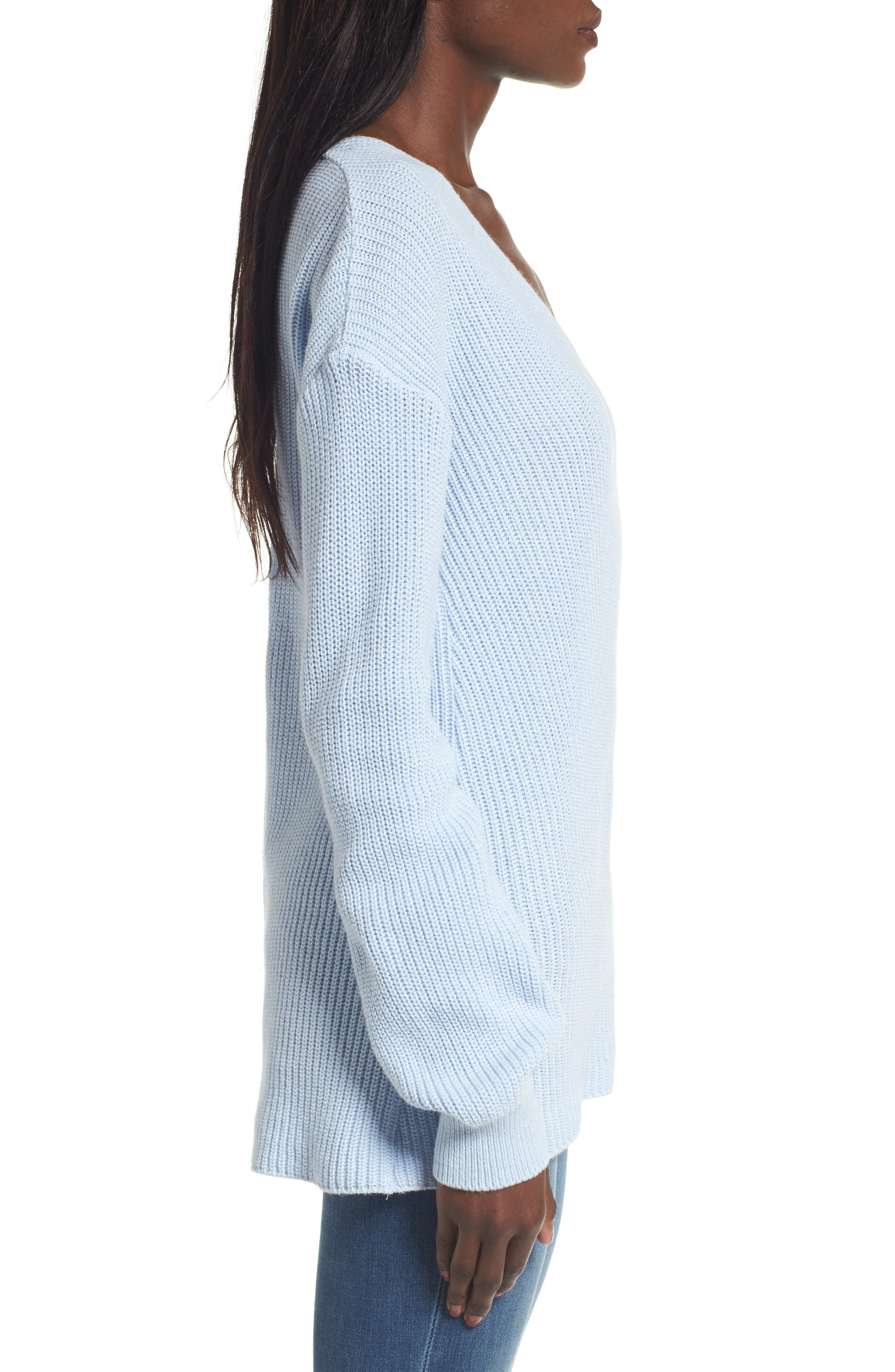 V-Neck Sweater,                             Alternate thumbnail 19, color,