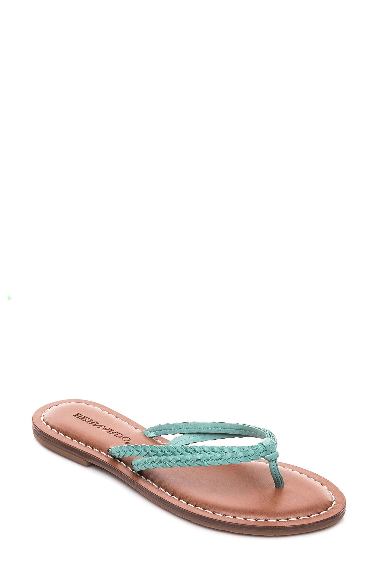 Bernardo Greta Braided Strap Sandal,                             Main thumbnail 3, color,