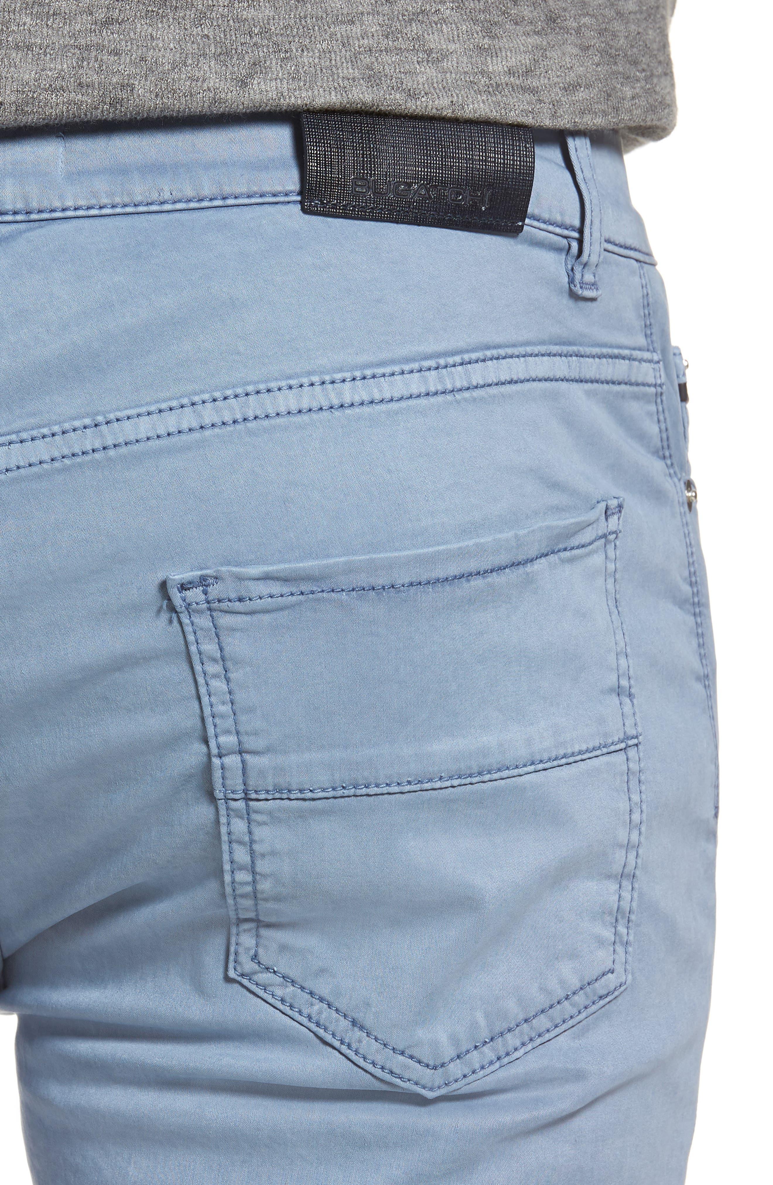Slim Fit Washed Five-Pocket Pants,                             Alternate thumbnail 16, color,