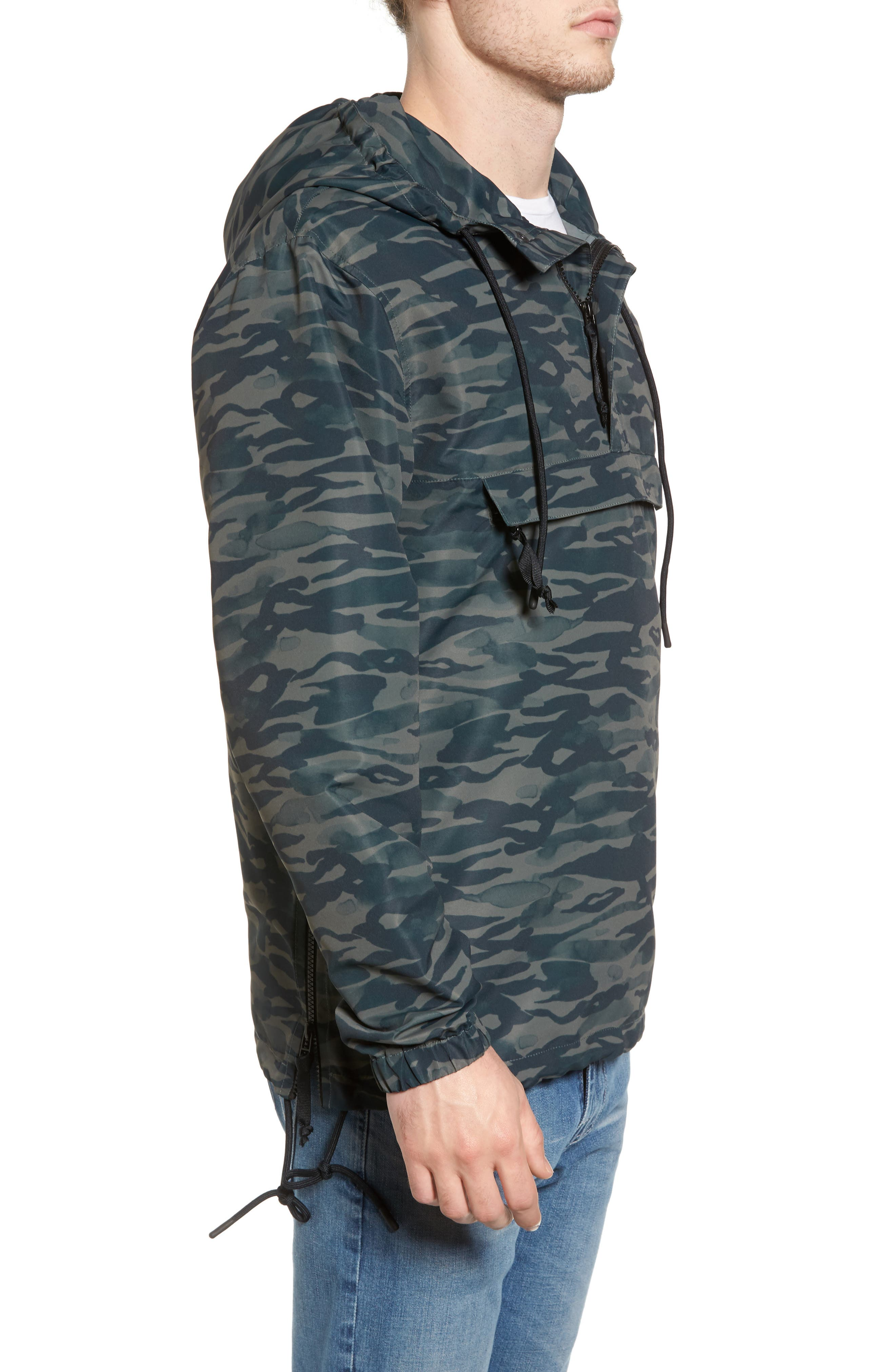 Packaway Hooded Anorak,                             Alternate thumbnail 9, color,