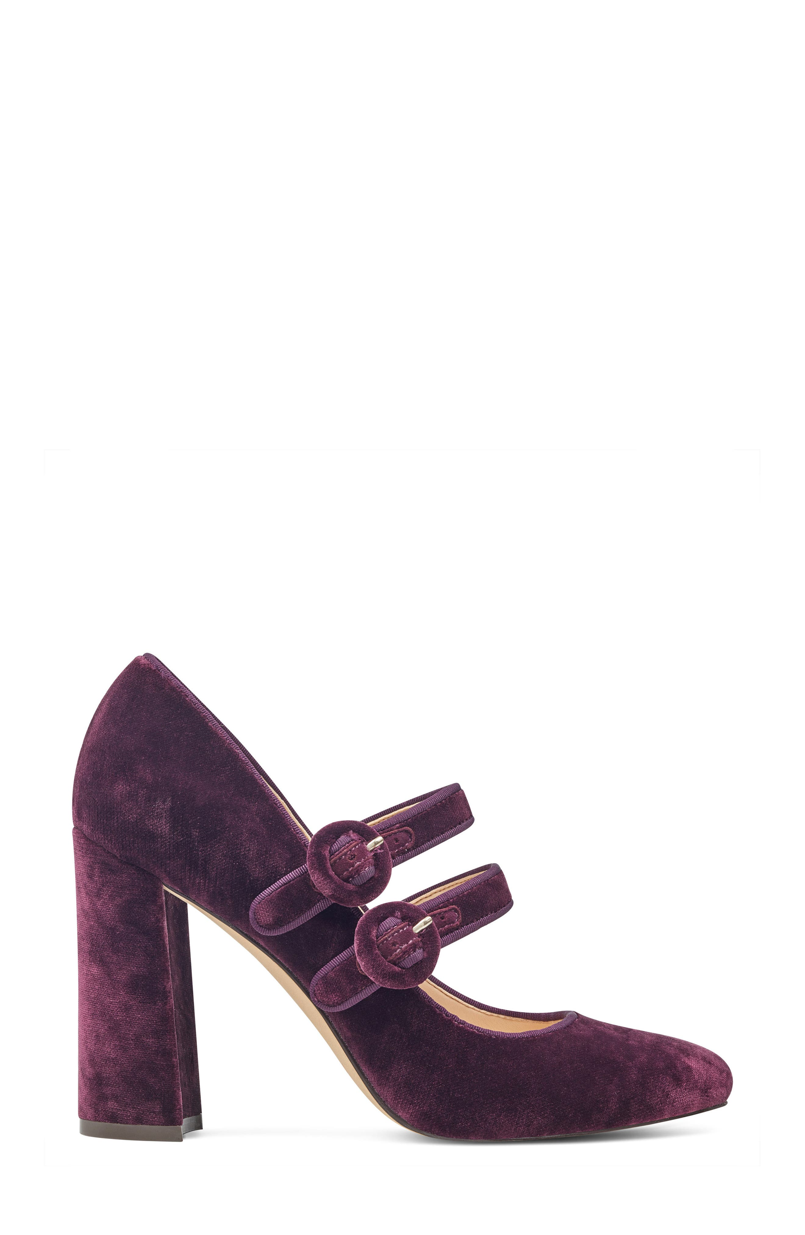 Dabney Double Strap Mary Jane Pump,                             Alternate thumbnail 12, color,
