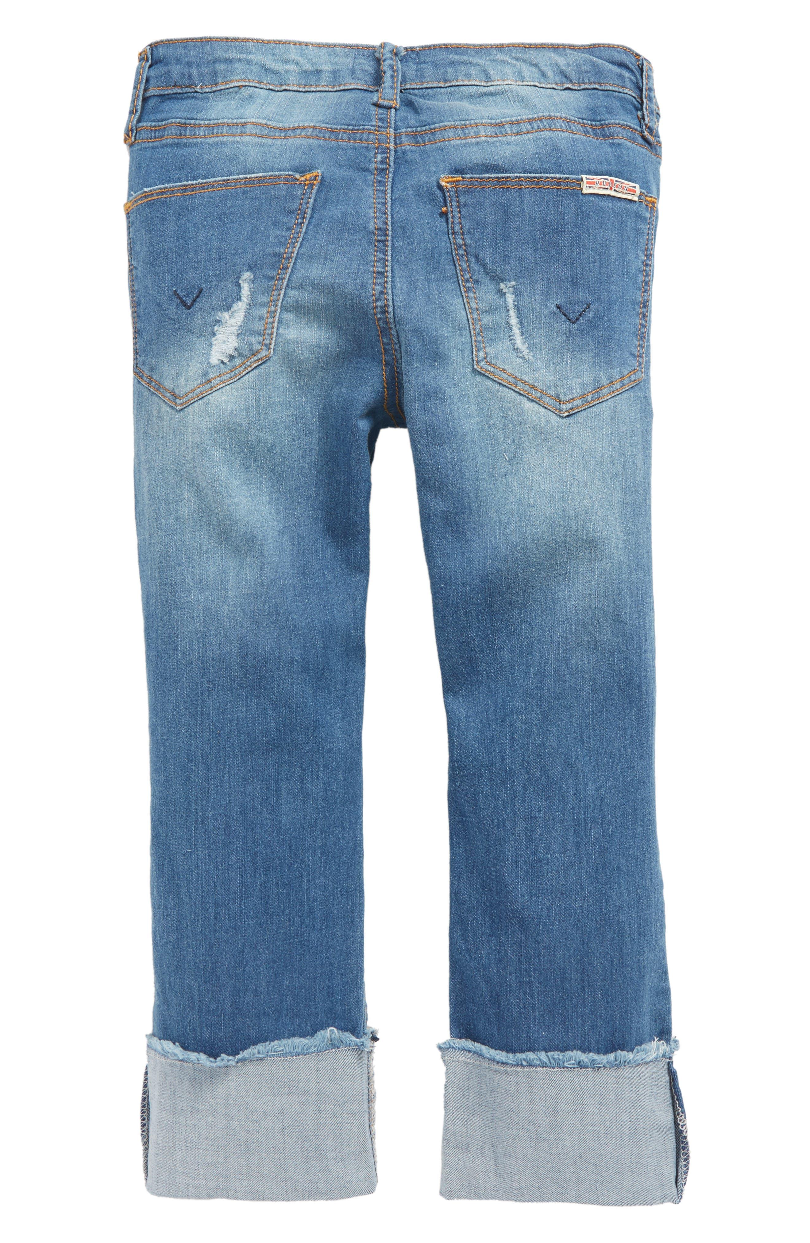 Jessa Crop Skinny Jeans,                             Alternate thumbnail 2, color,                             499