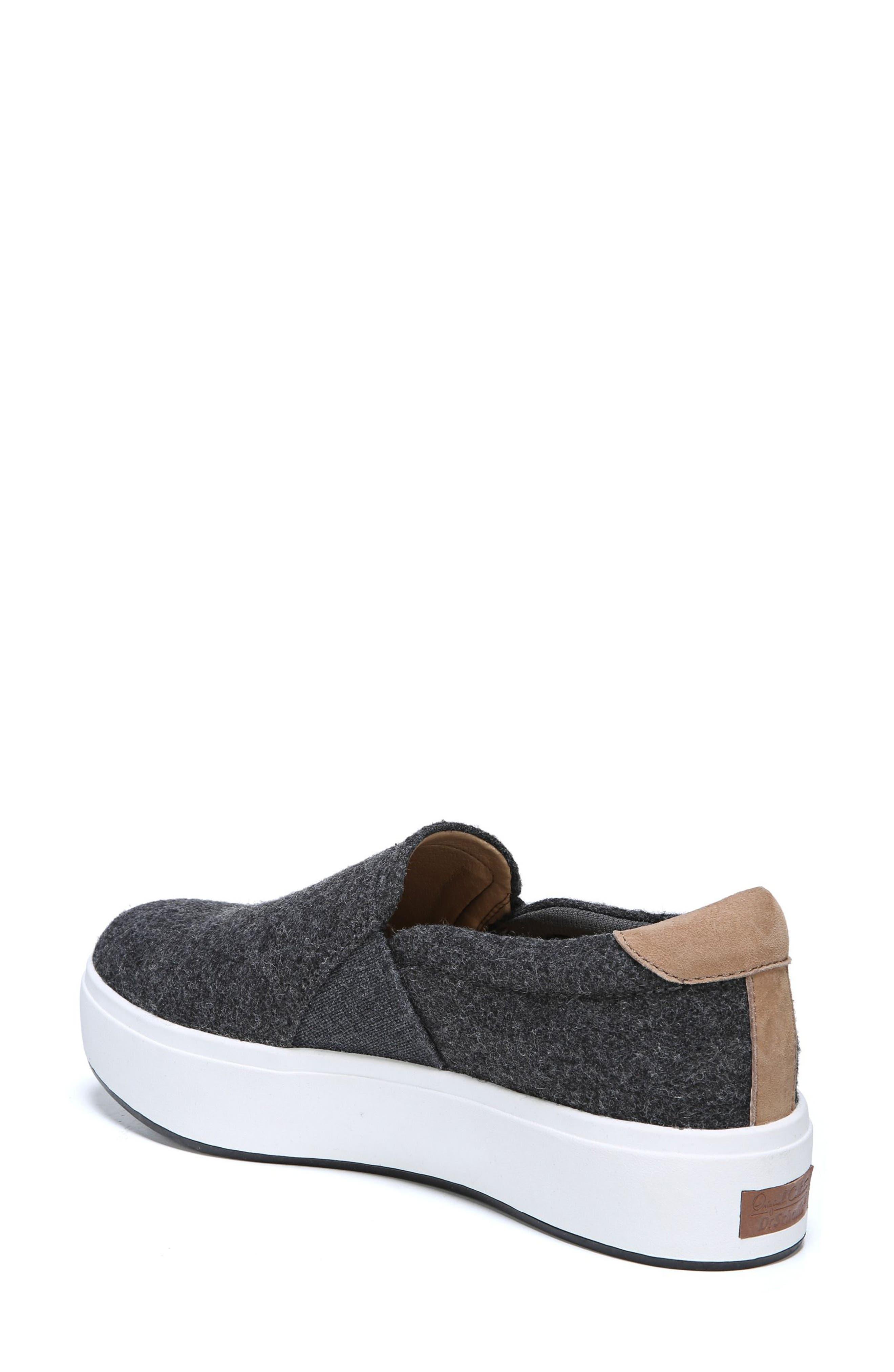 Abbot Slip-On Sneaker,                             Alternate thumbnail 2, color,                             GREY FABRIC