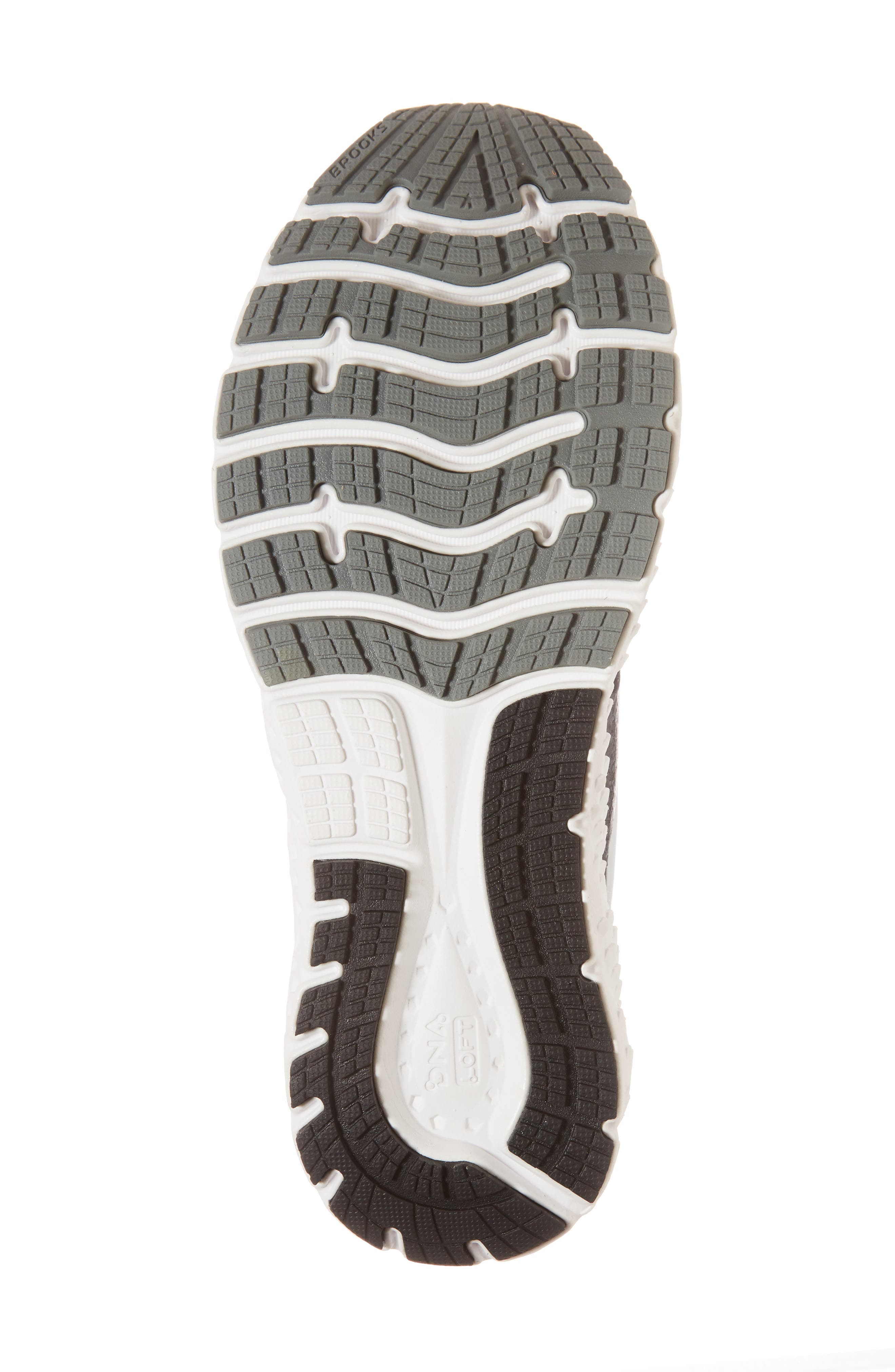 Glycerin 16 Running Shoe,                             Alternate thumbnail 6, color,                             BLACK/ ORANGE/ GREY