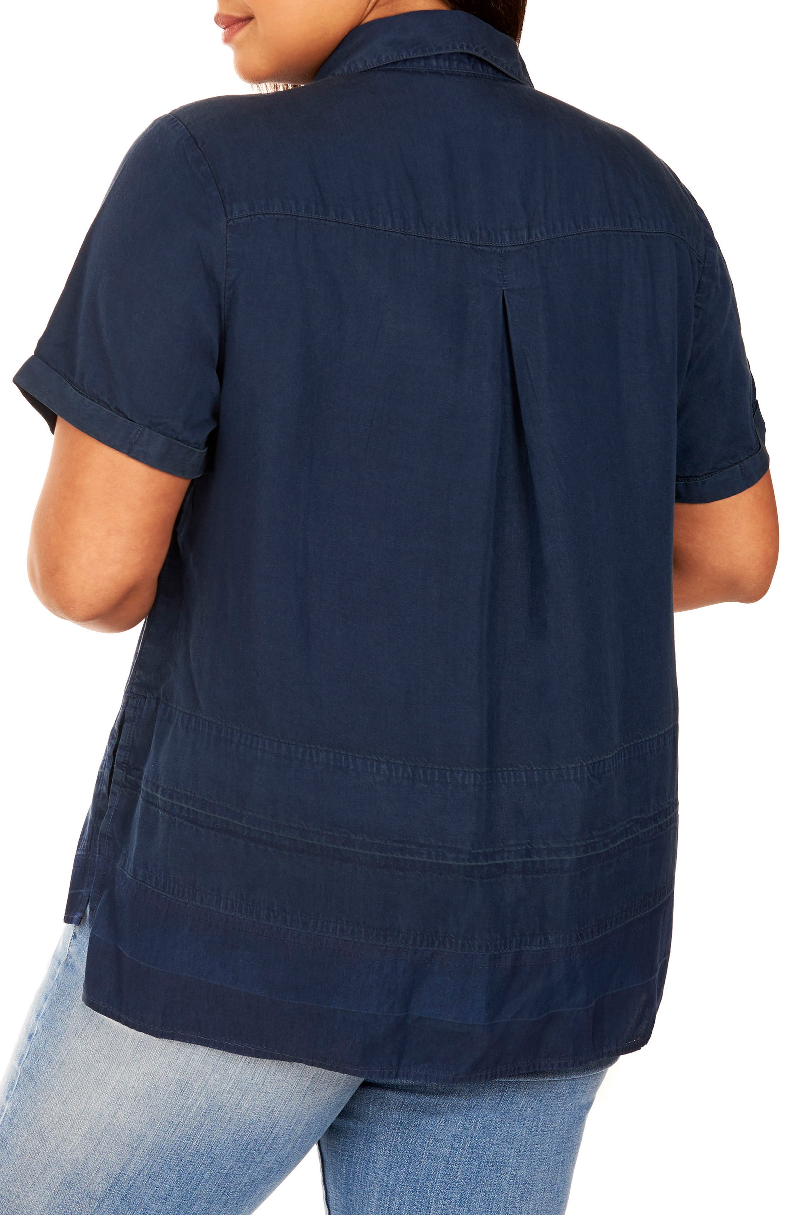 Button Up Collar Shirt,                             Alternate thumbnail 2, color,                             469