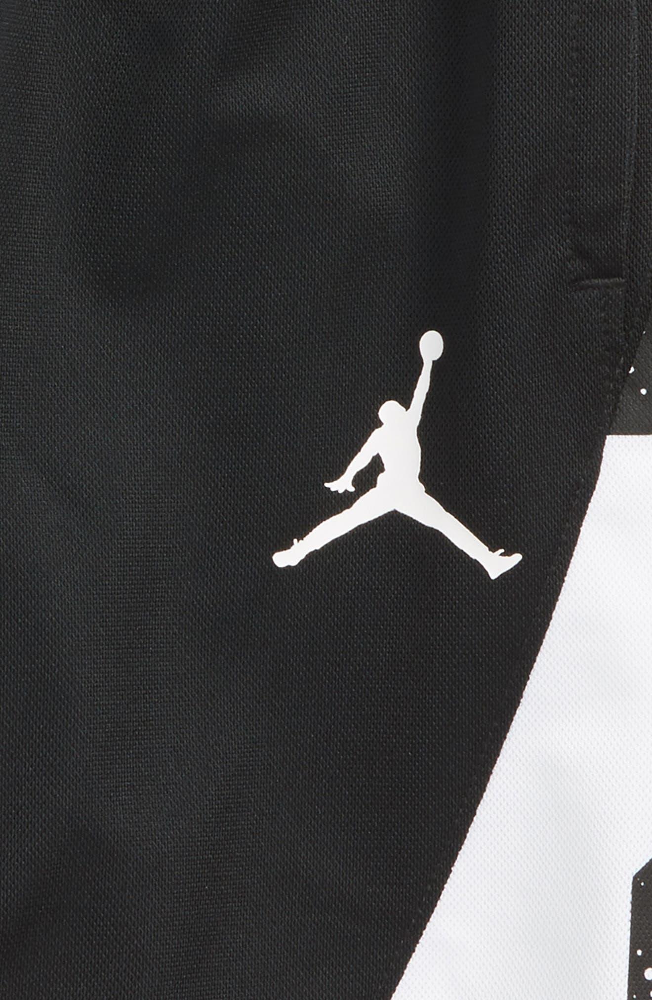 Jordan Dry Speckle 23 Training Shorts,                             Alternate thumbnail 3, color,                             001