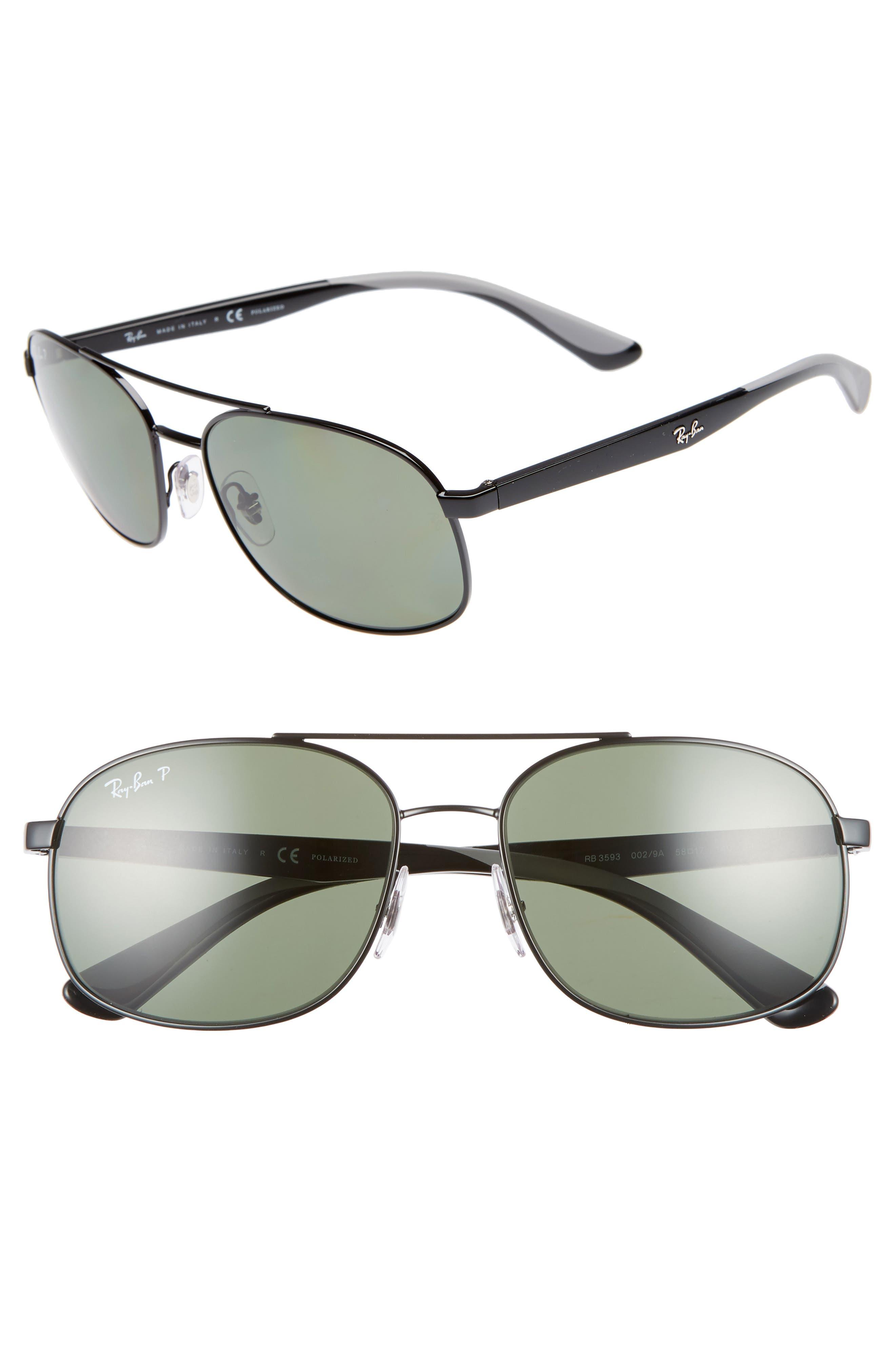 Ray-Ban 5m Navigator Sunglasses - Black