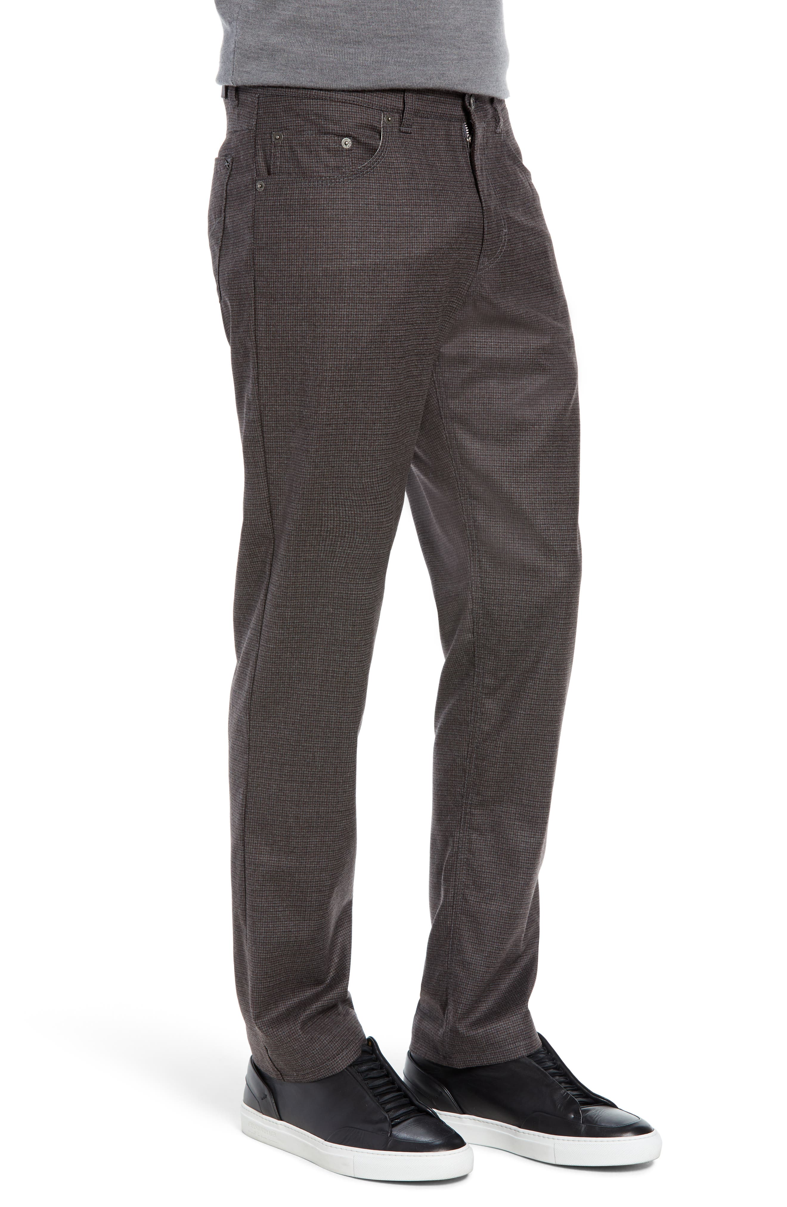 Cadiz Five Pocket Stretch Wool Trousers,                             Alternate thumbnail 3, color,                             ANTHRACITE