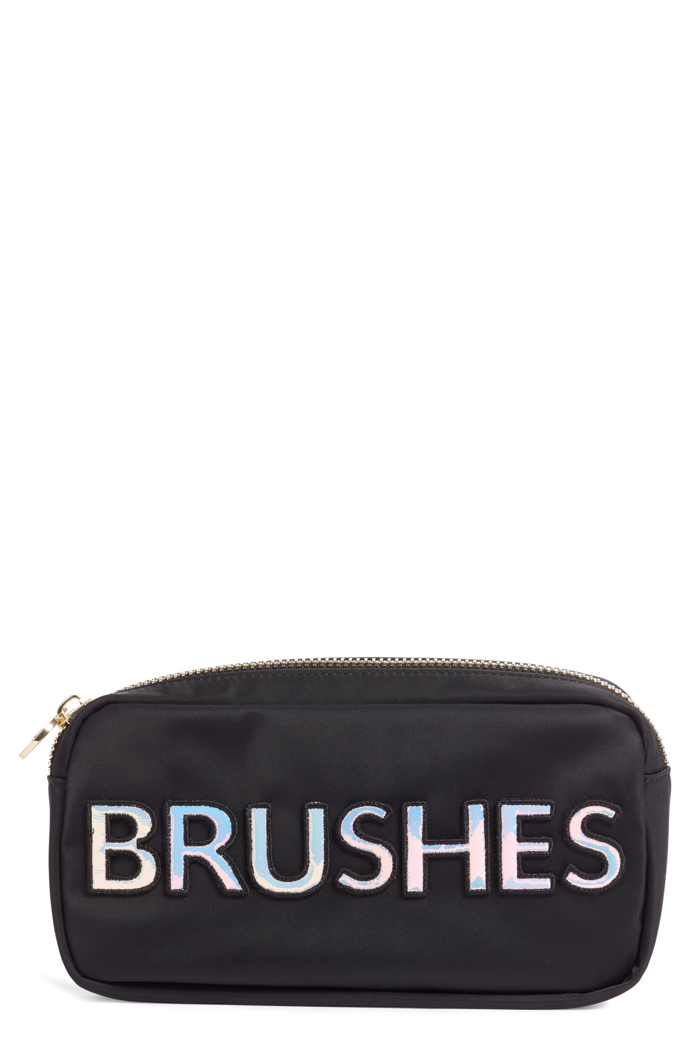 STONEY CLOVER LANE Brush Pouch in Black