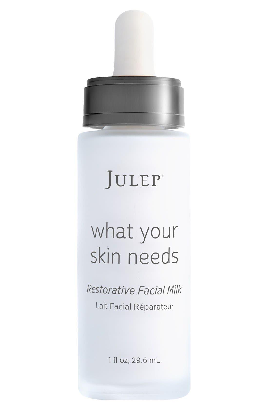 Julep<sup>™</sup> What Your Skin Needs Restorative Facial Milk,                             Main thumbnail 1, color,                             NO COLOR